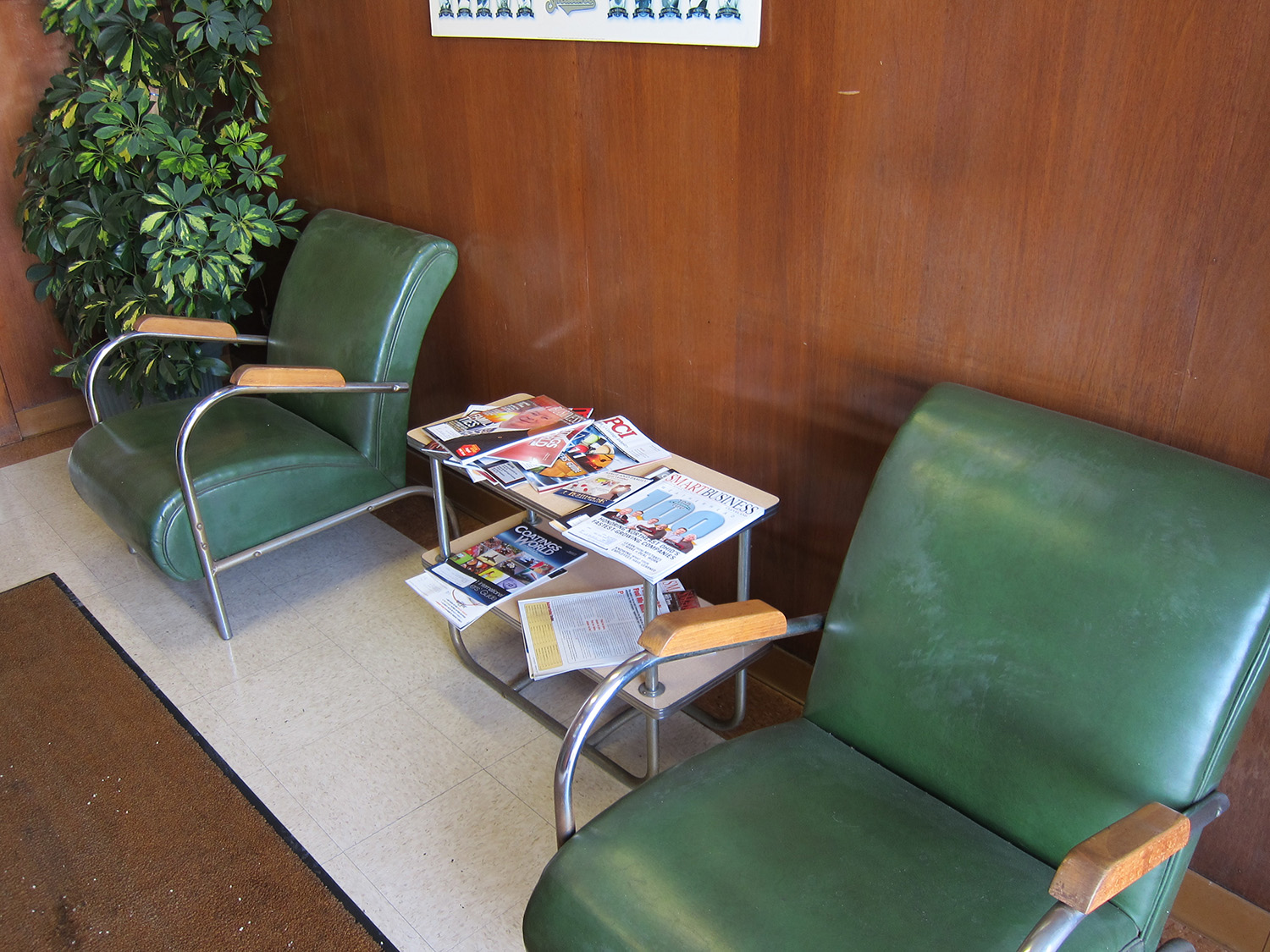 Waiting room (mid-century) furniture