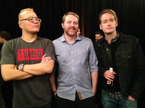 Milky, chewing the fat with Lab Zero Games founder (and former EGM freelancer), Peter Bartholow, and BioShock Infinite scribe (and former Gamespot EIC), Joe Fielder