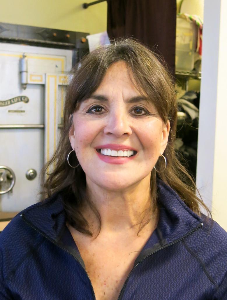 Midge Peltonen, soup coordinator