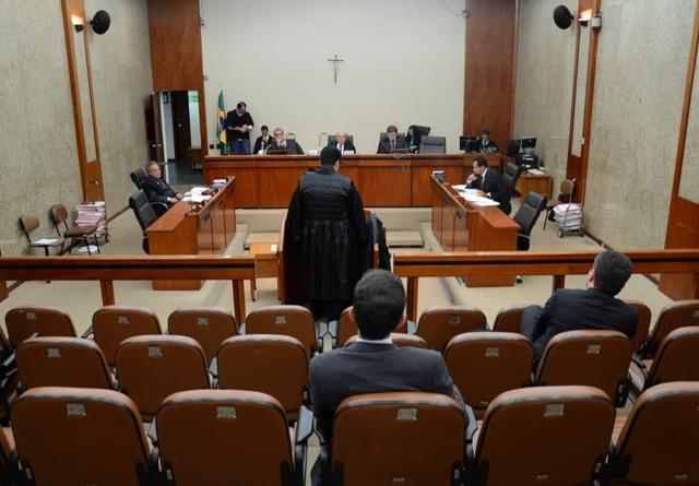 Sessão de julgamento da 5ª Turma do TRF1. Foto: ASCOM/TRF1