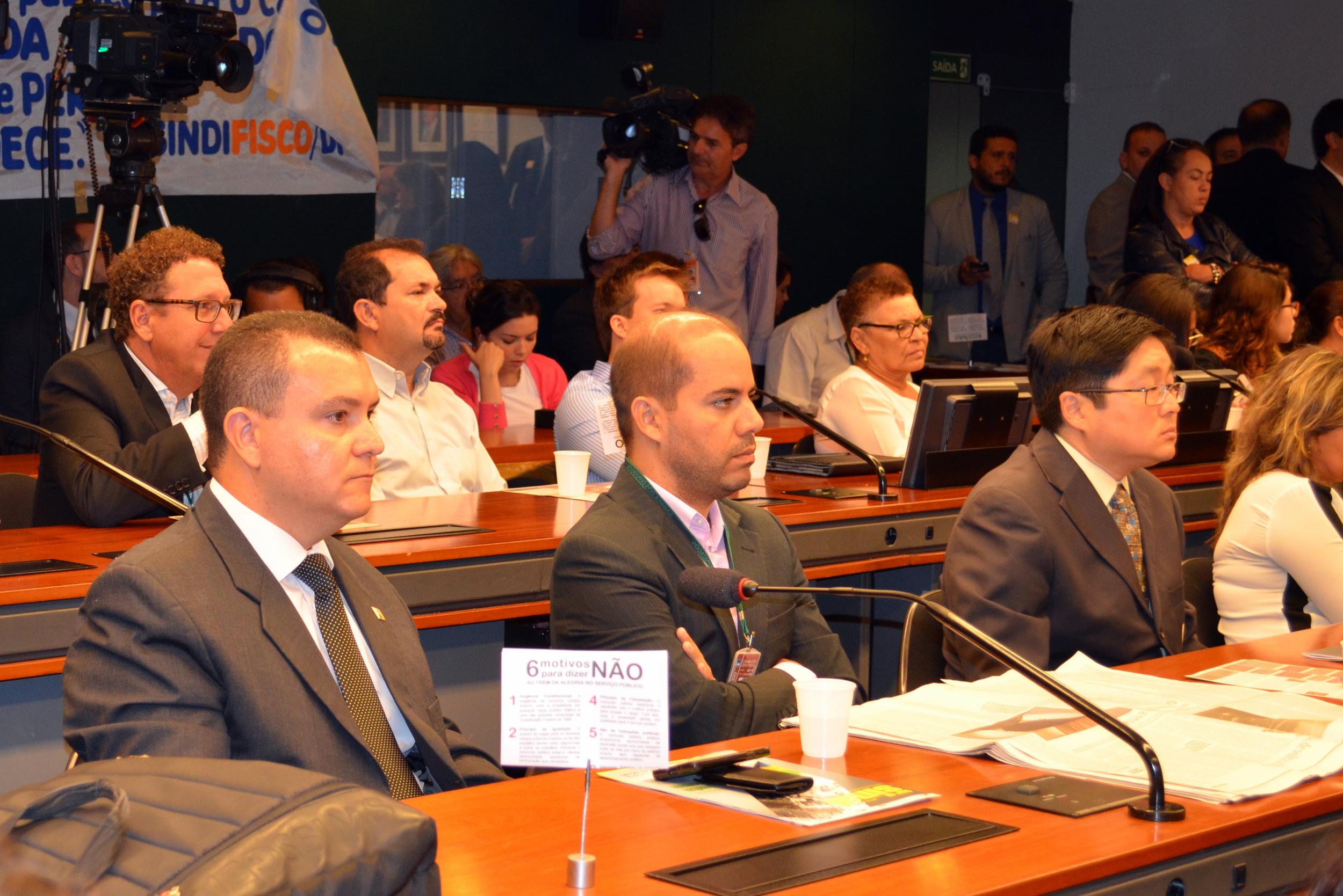 Presidente João Aurélio ao lado de Filipe Leão, diretor na Unacon. Foto: Filipe Calmon/ANESP