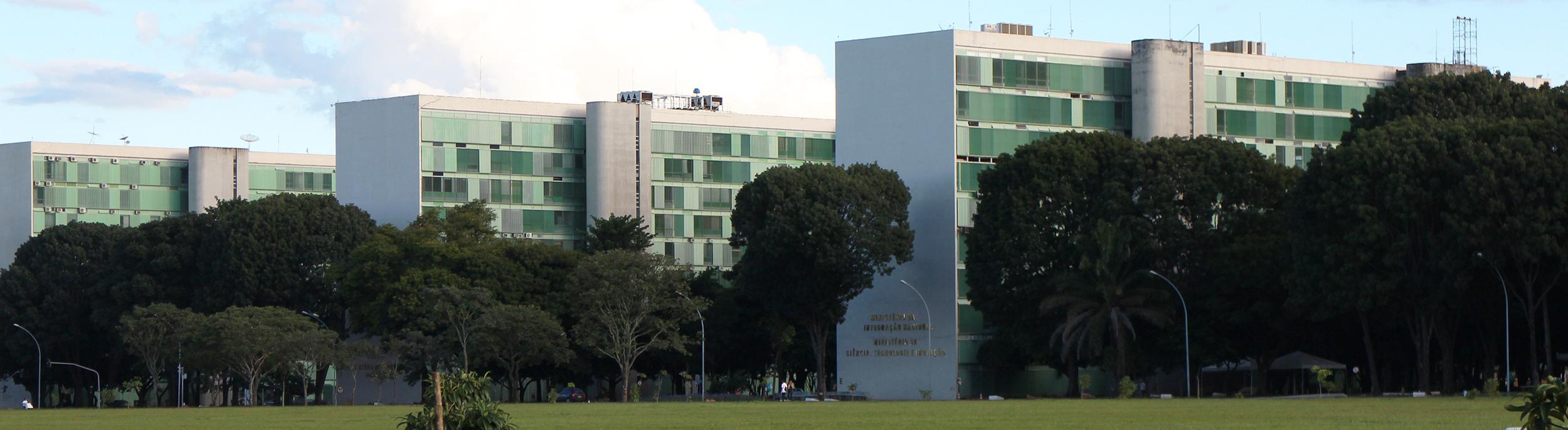 Esplanada dos Ministérios.
