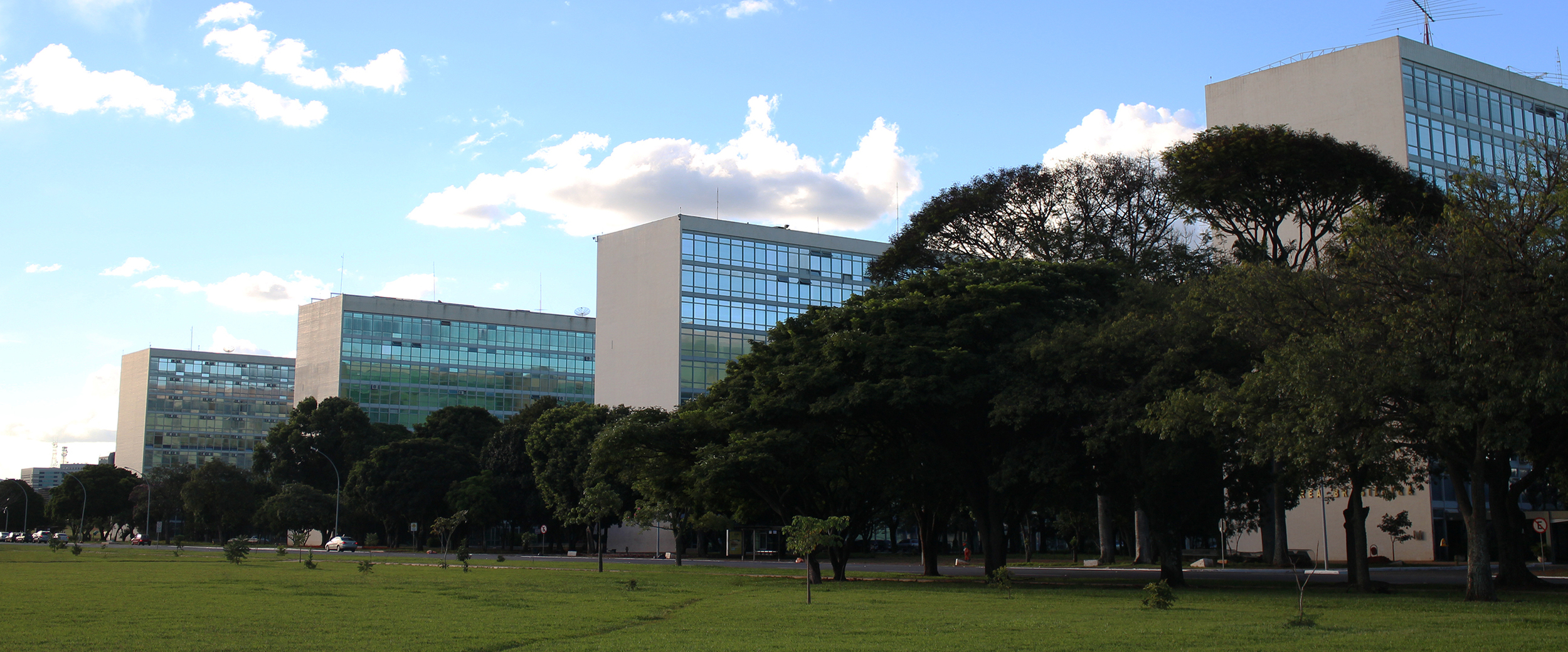Esplanada dos Ministérios, Brasília.