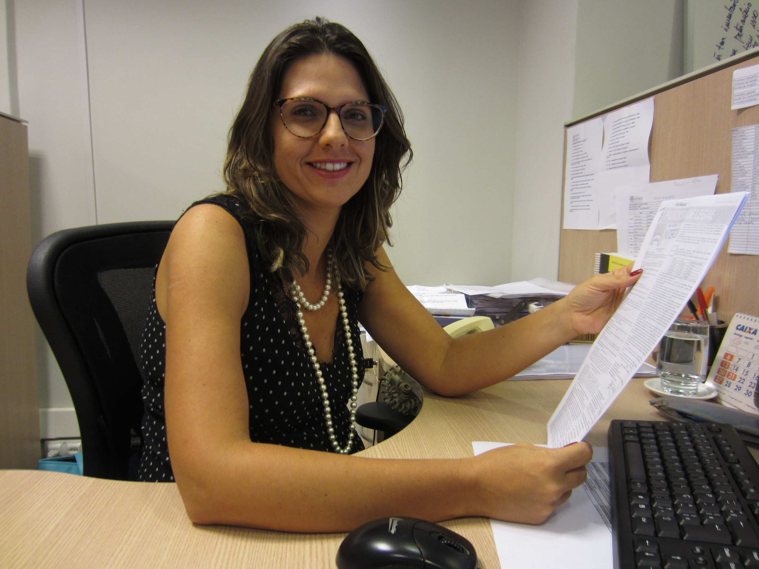 Giovanna Victer, da 13ª turma, é mestre em Políticas Públicas. Foto: Arquivo pessoal