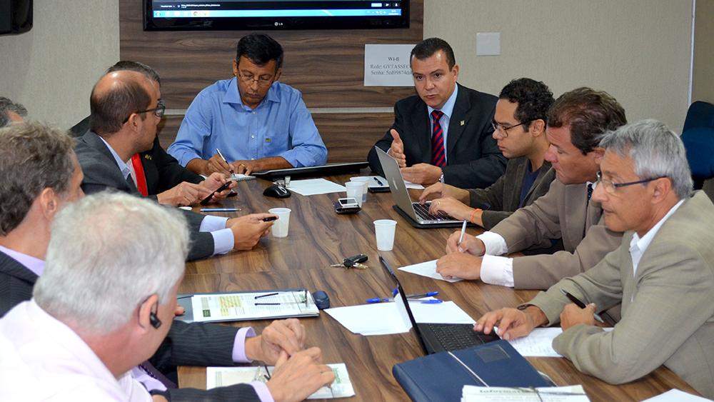 Reunião da UCE considerou o cenário político atual para definir as próximas ações conjuntas. Foto: Filipe Calmon
