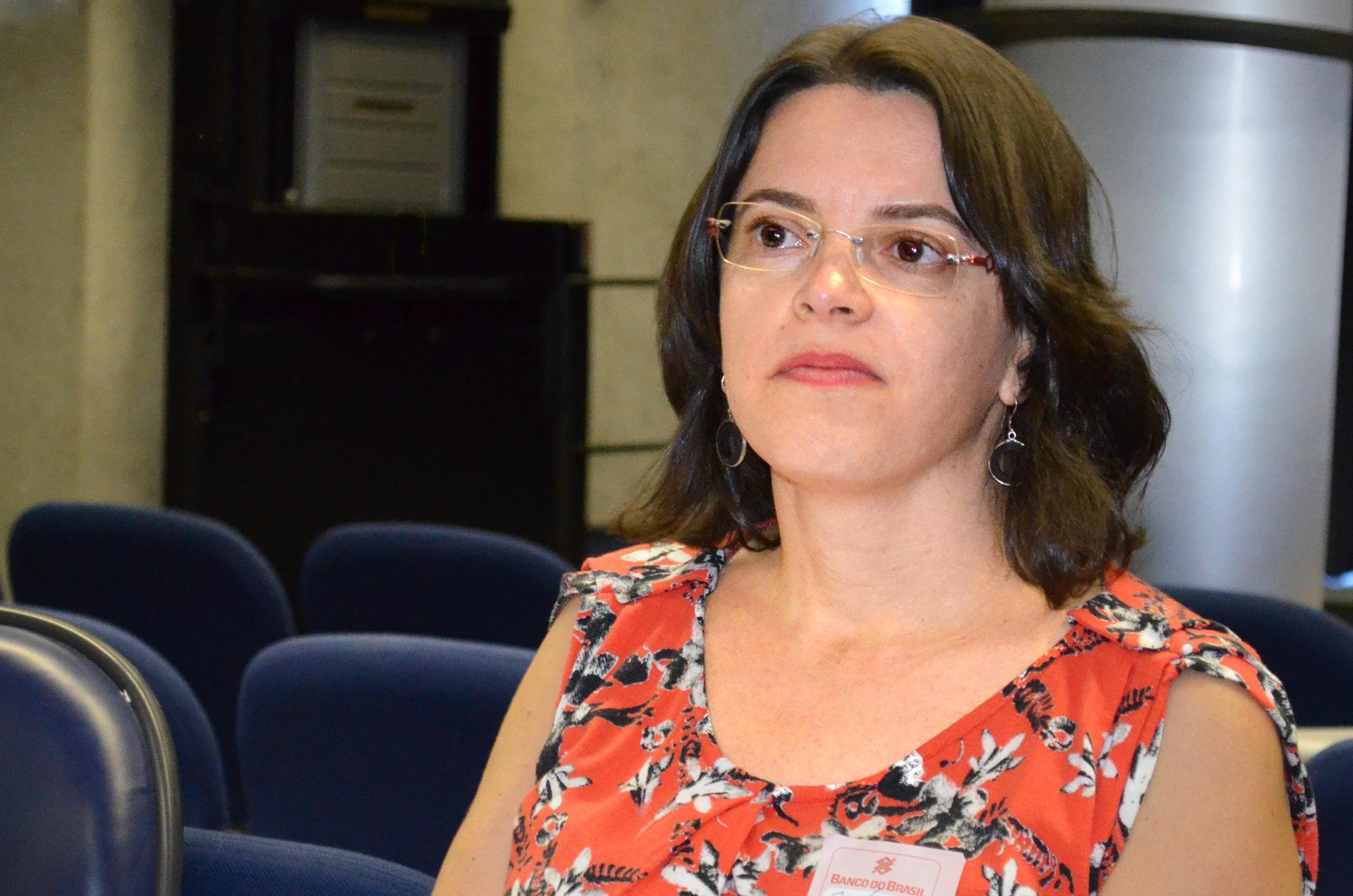 Paula Oliveira, Diretora Administrativo-Financeiro da ANESP. Clique na imagem para acessar o álbum no Flickr.