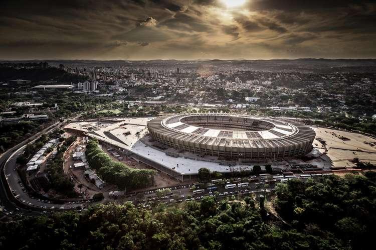 Foto aérea de Belo Horizonte. Foto: Alberto Andrich/BCMF / Divulgação