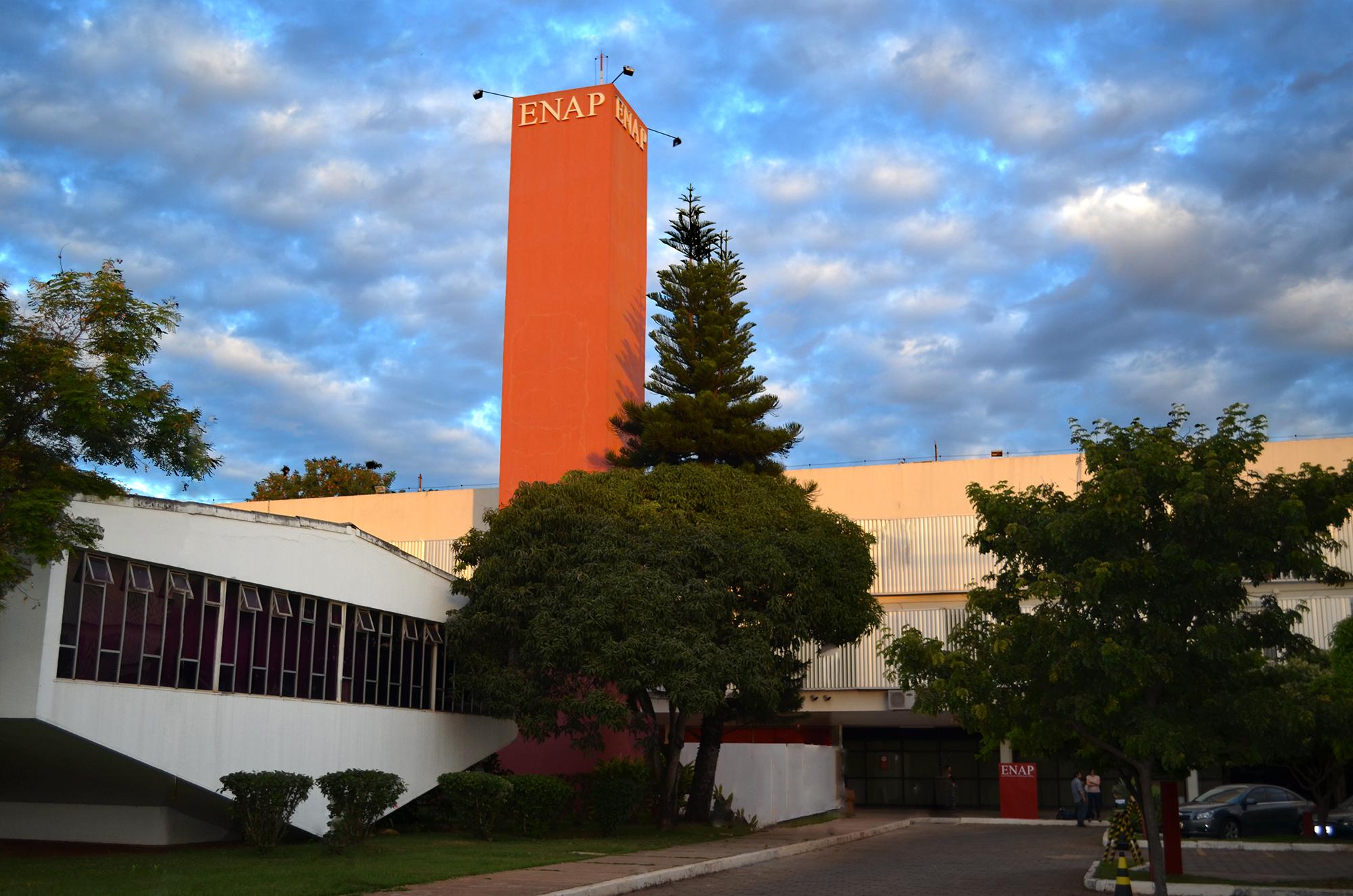 Escola Nacional de Administração Pública - ENAP, edifício sede. Foto: Filipe Calmon / ANESP