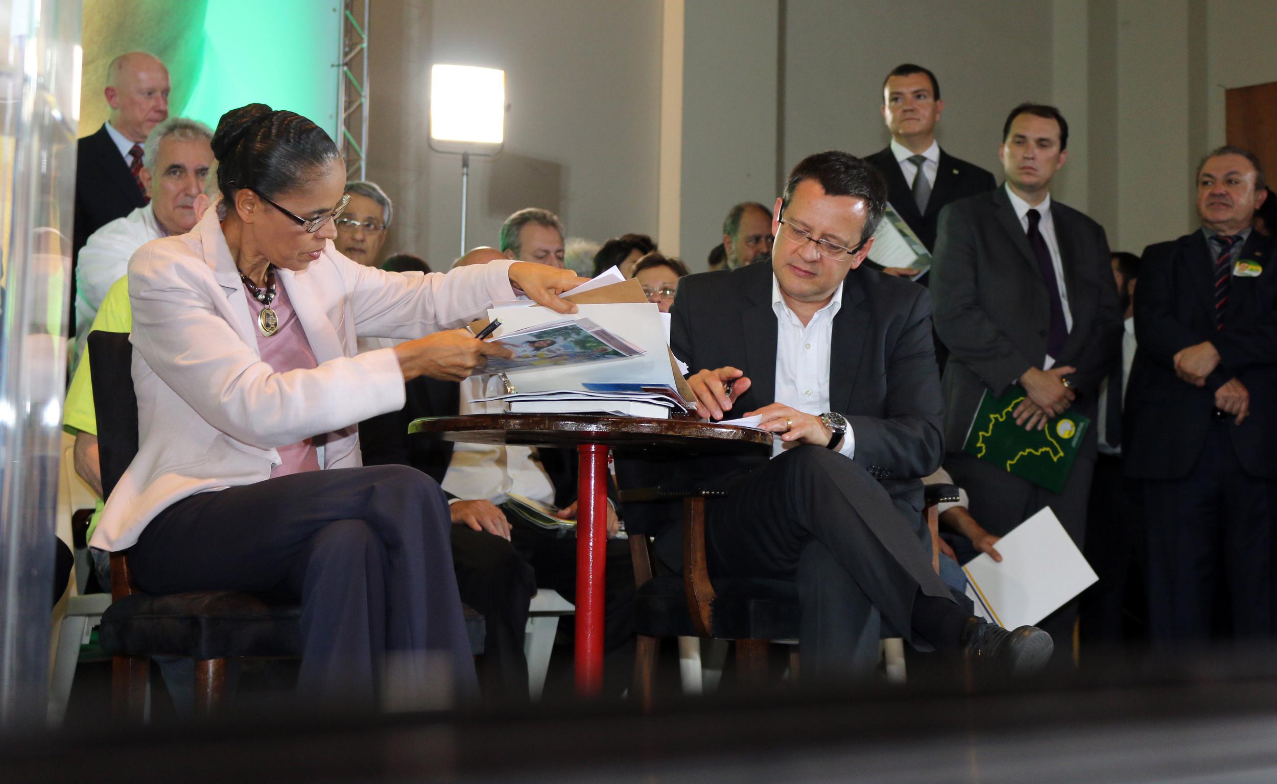 Membros do Fonacate participaram de encontro em São Paulo com a presidenciável Marina Silva. Foto: Filipe Calmon / ANESP