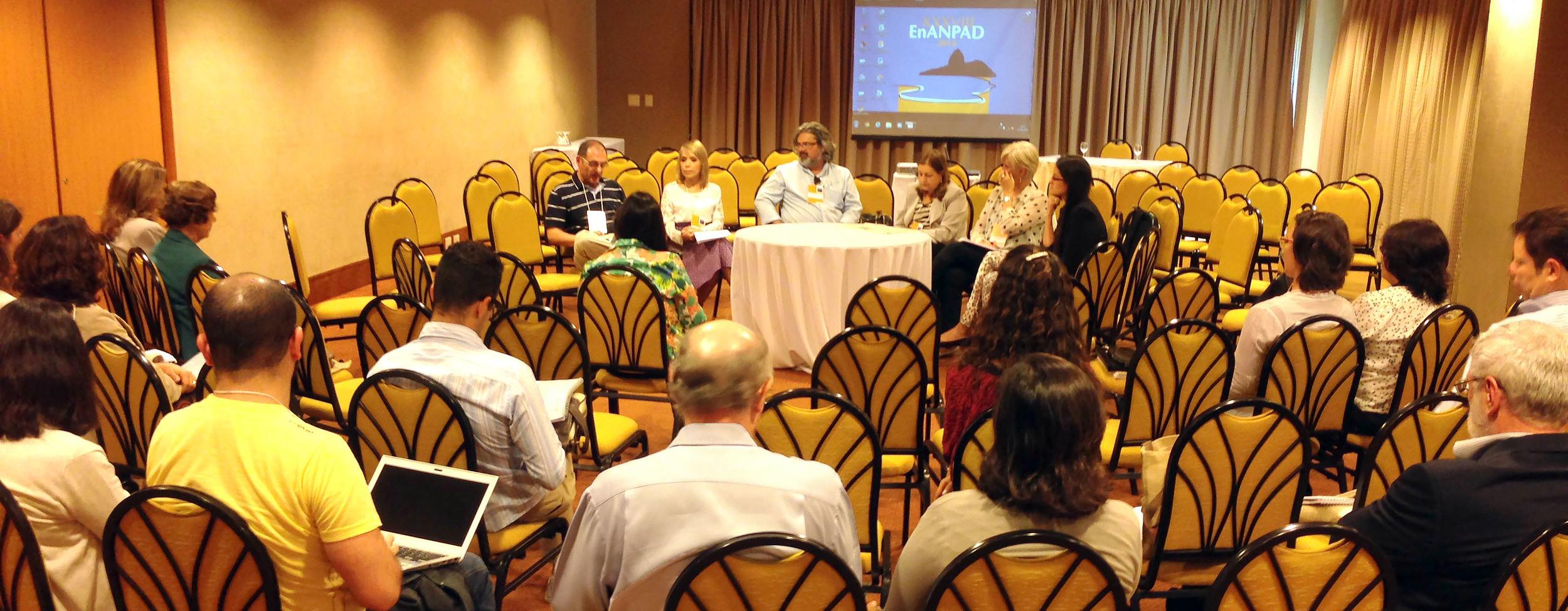 O EnANPAD 2014 foi realizado entre 14 e 17 de setembro na cidade do Rio de Janeiro-RJ. Foto: Aleksandra Santos / Arquivo pessoal