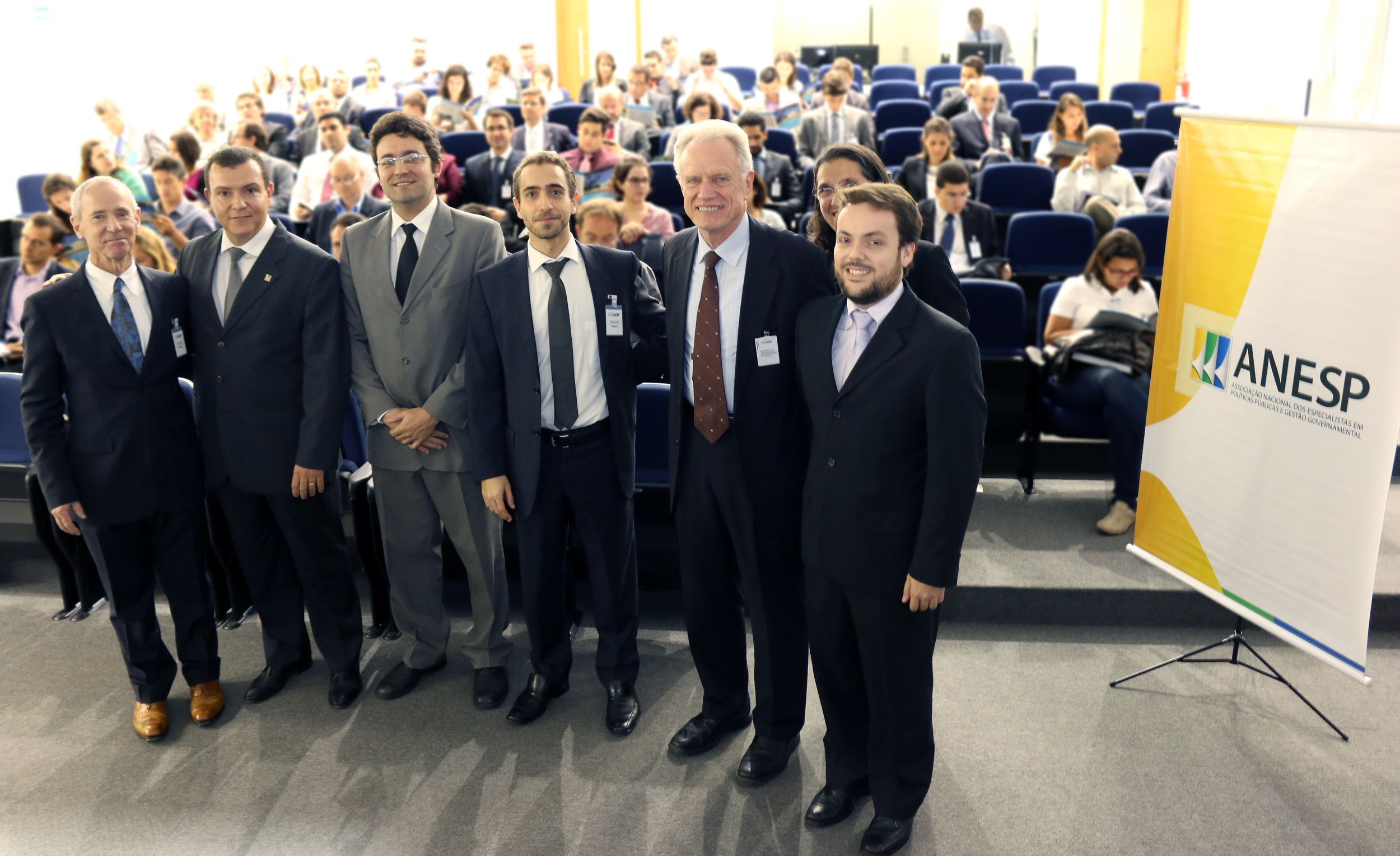 William Eimicke, João Aurélio, Alex Canuto, Matheus Azevedo, Thomas Trebat e Ricardo Ribeiro.