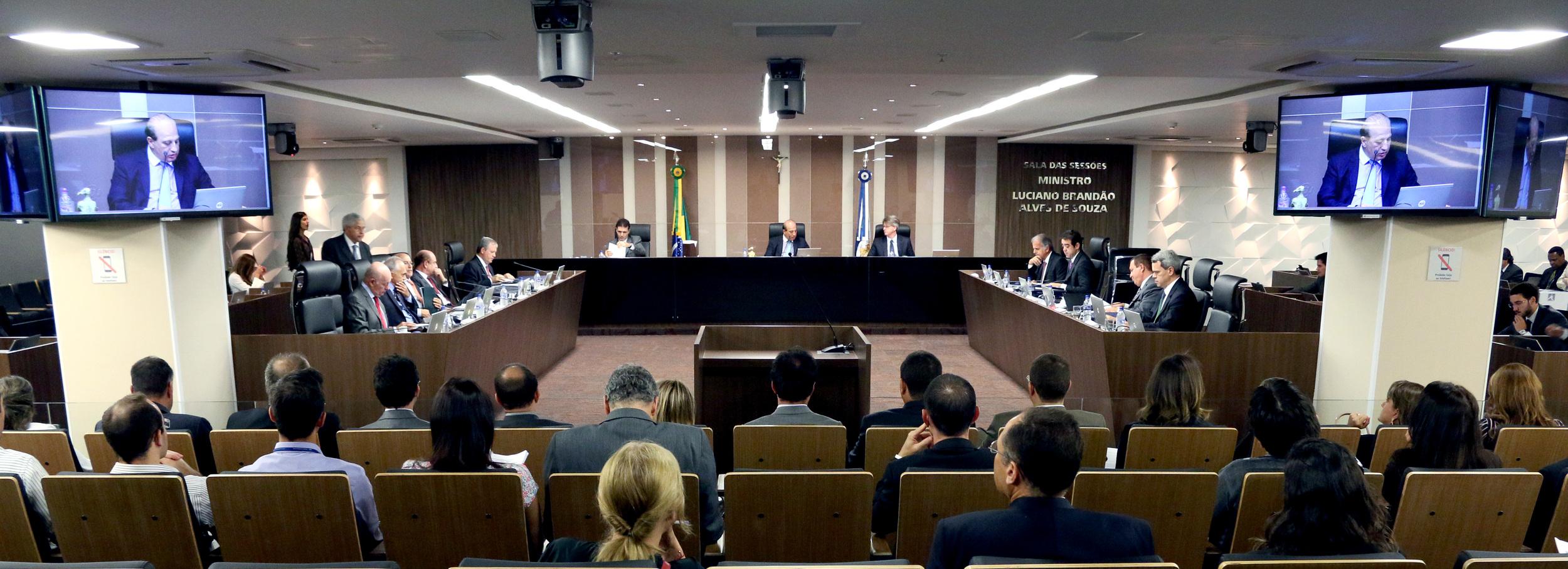Sessão de julgamento foi realizada na quarta-feira (05) de novembro, no plenário do TCU. Foto: Filipe Calmon ANESP