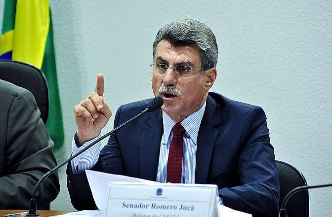 Senador Romero Jucá Foto: Luis Macedo/Câmara dos Deputados