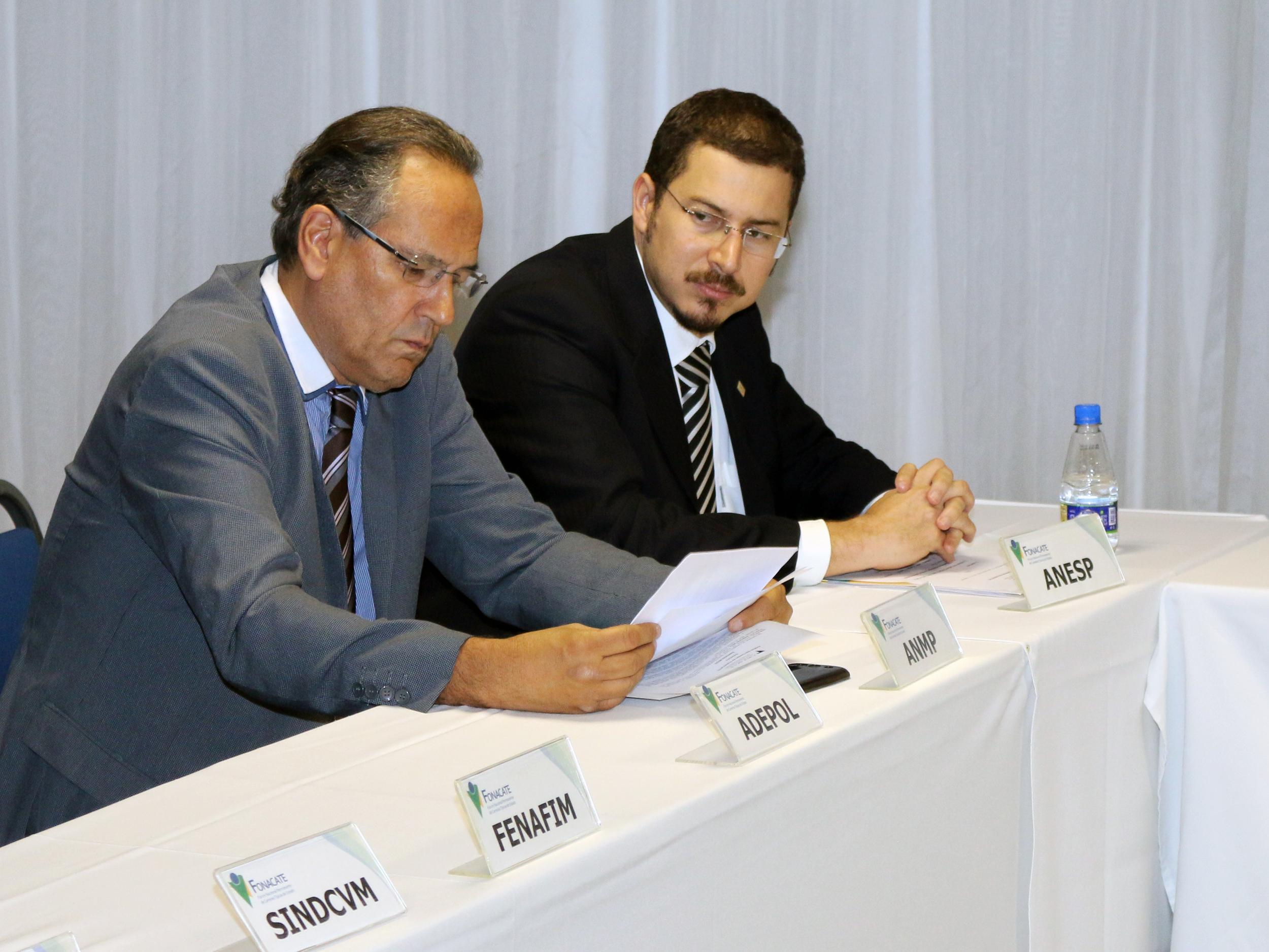 A ANESP foi representada pelo Diretor Cadu de Azevedo. Foto: Filipe Calmon / ANESP