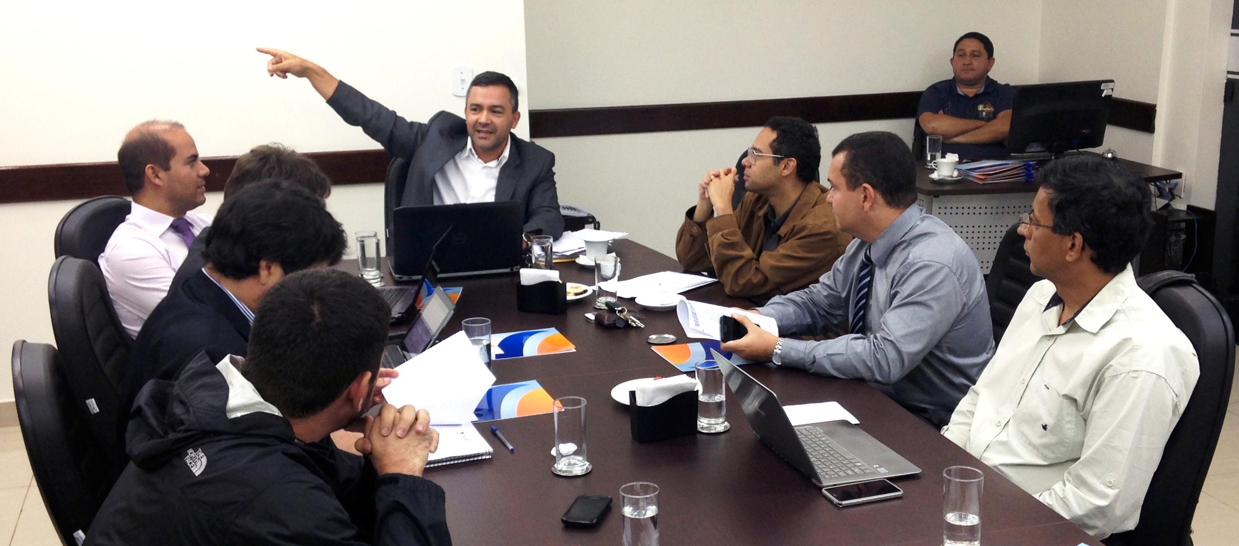 O encontro ocorreu na sede da Unacon Sindical. Foto: Filipe Calmon / ANESP