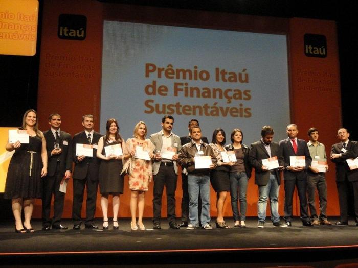 Foto:Ascom/Prêmio Itaú de Finanças sustentáveis