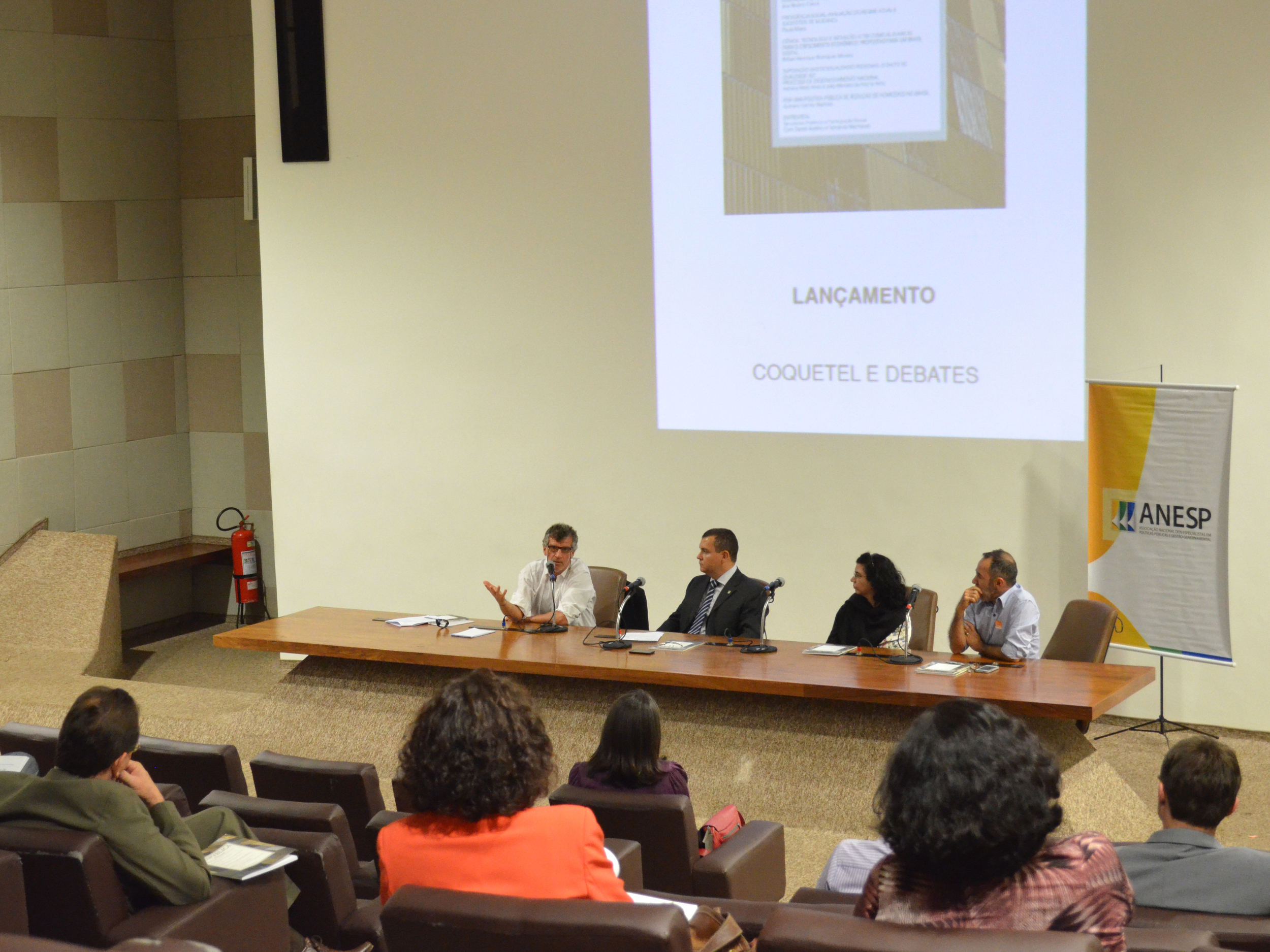 Evento de lançamento da última edição da ResPvblica foi no Palácio da Justiça. Foto: Filipe Calmon / ANESP