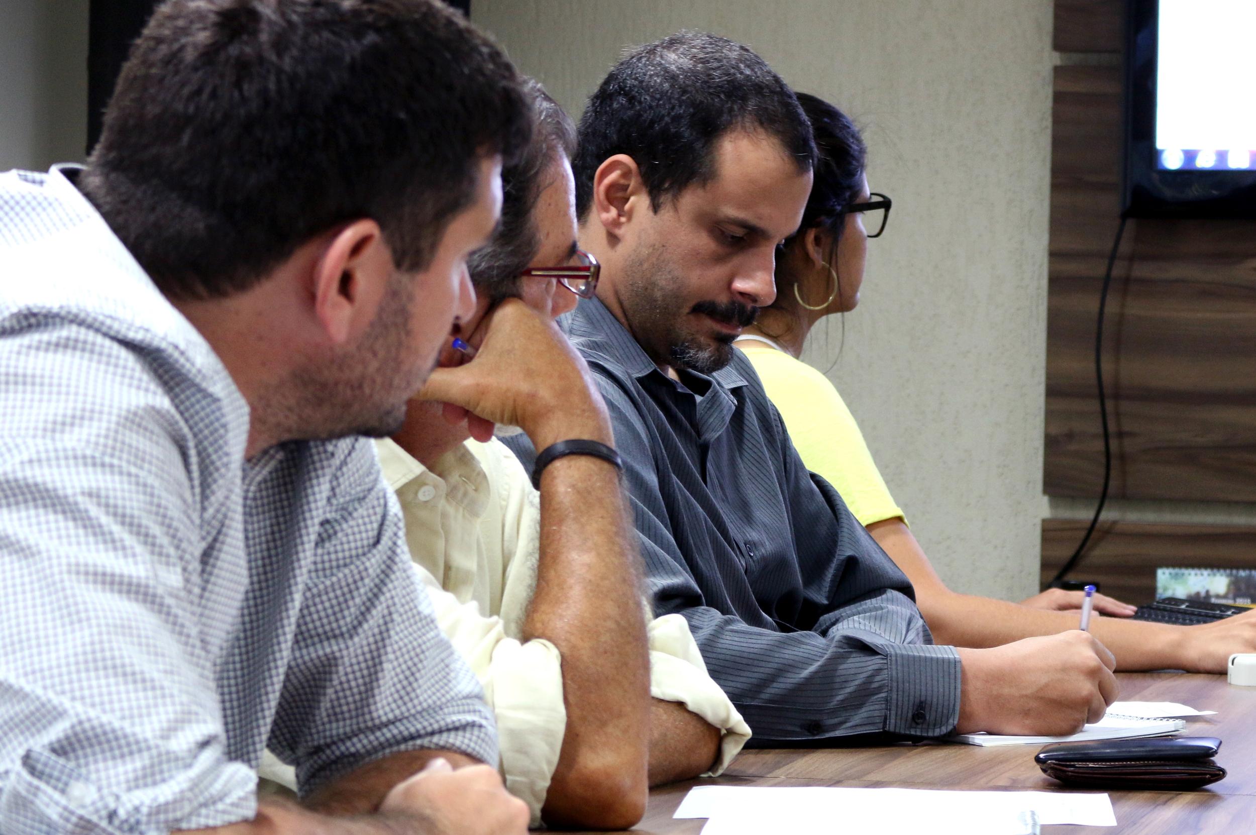 O Diretor de Assuntos Profissionais, Andrei Soares, representou a ANESP na reunião. Foto: Filipe Calmon / ANESP