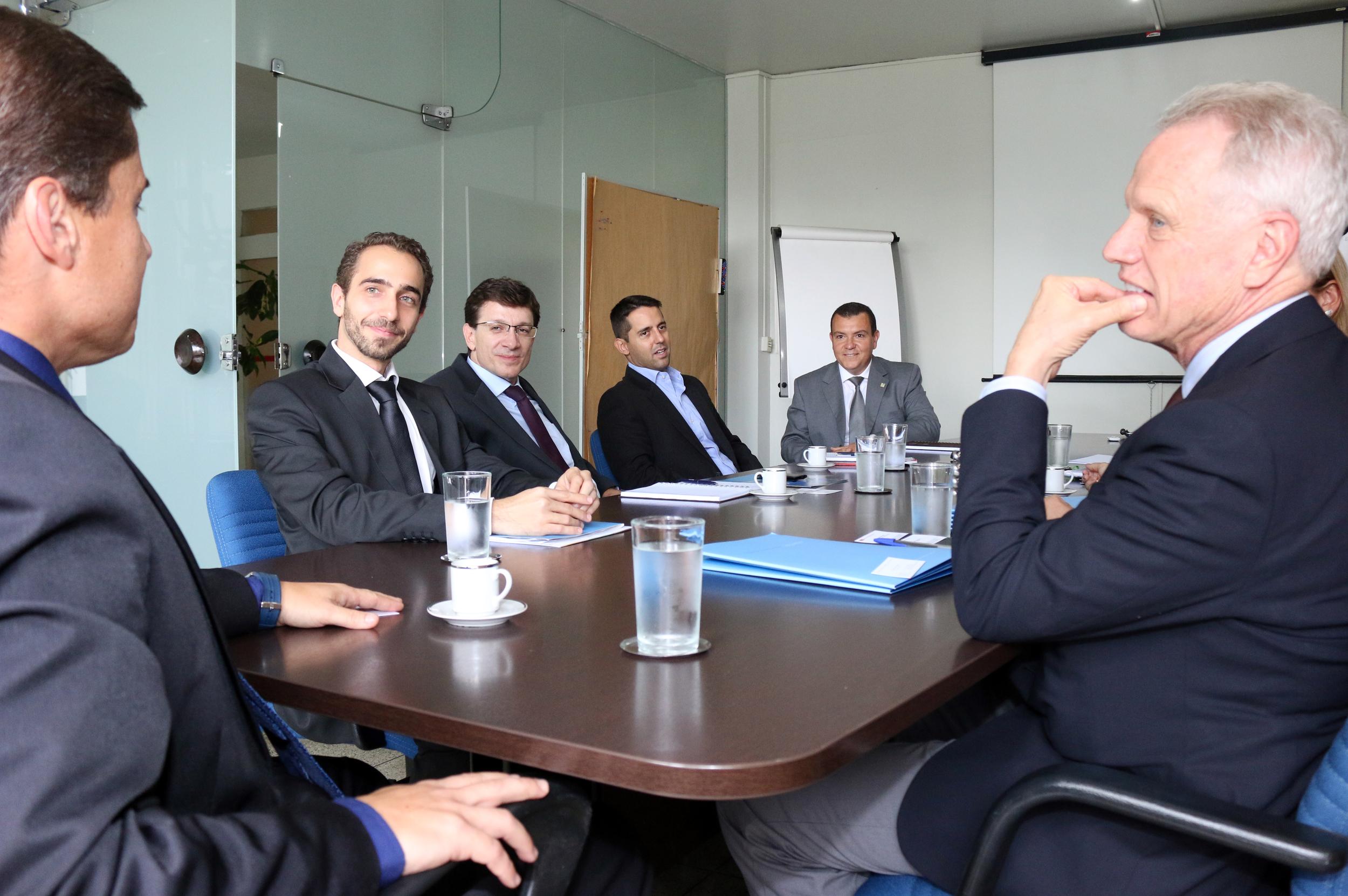 Encontro auspicioso foi realizado no gabinete da Presidência da ENAP
