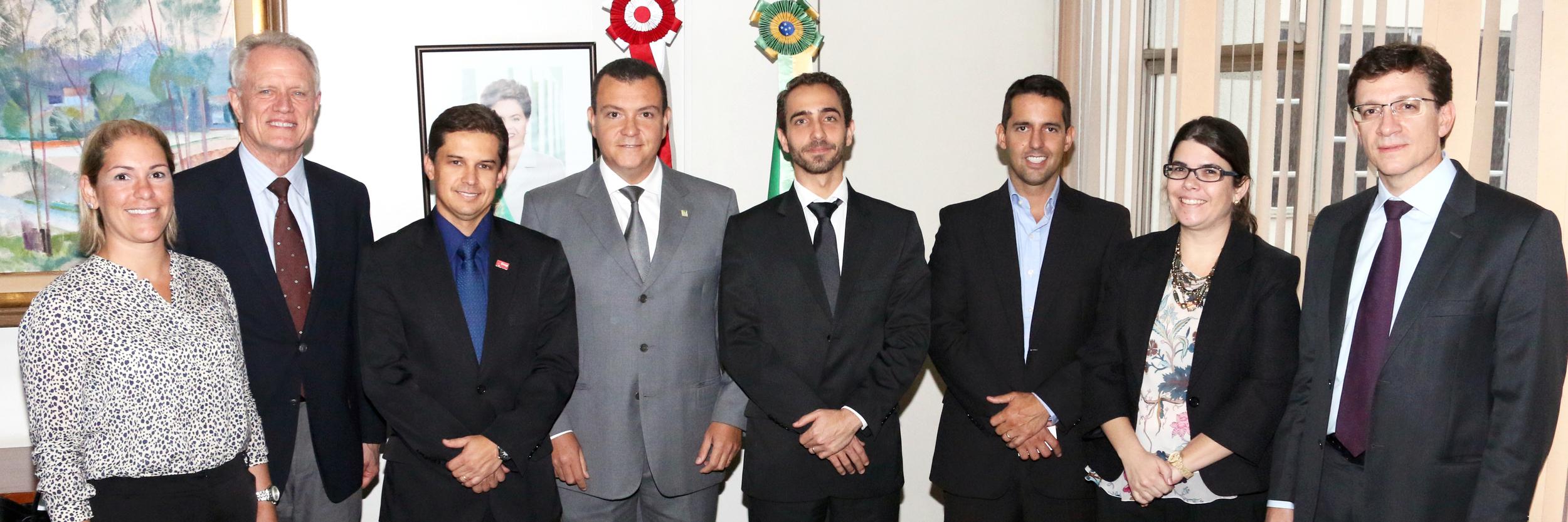 Maria Luiza Paranhos, Thomas Trebat, Gleisson Rubin, João Aurélio, Matheus Azevedo, Pedro Cavalcante, Aline Soares e Luiz Henrique D'Andrea