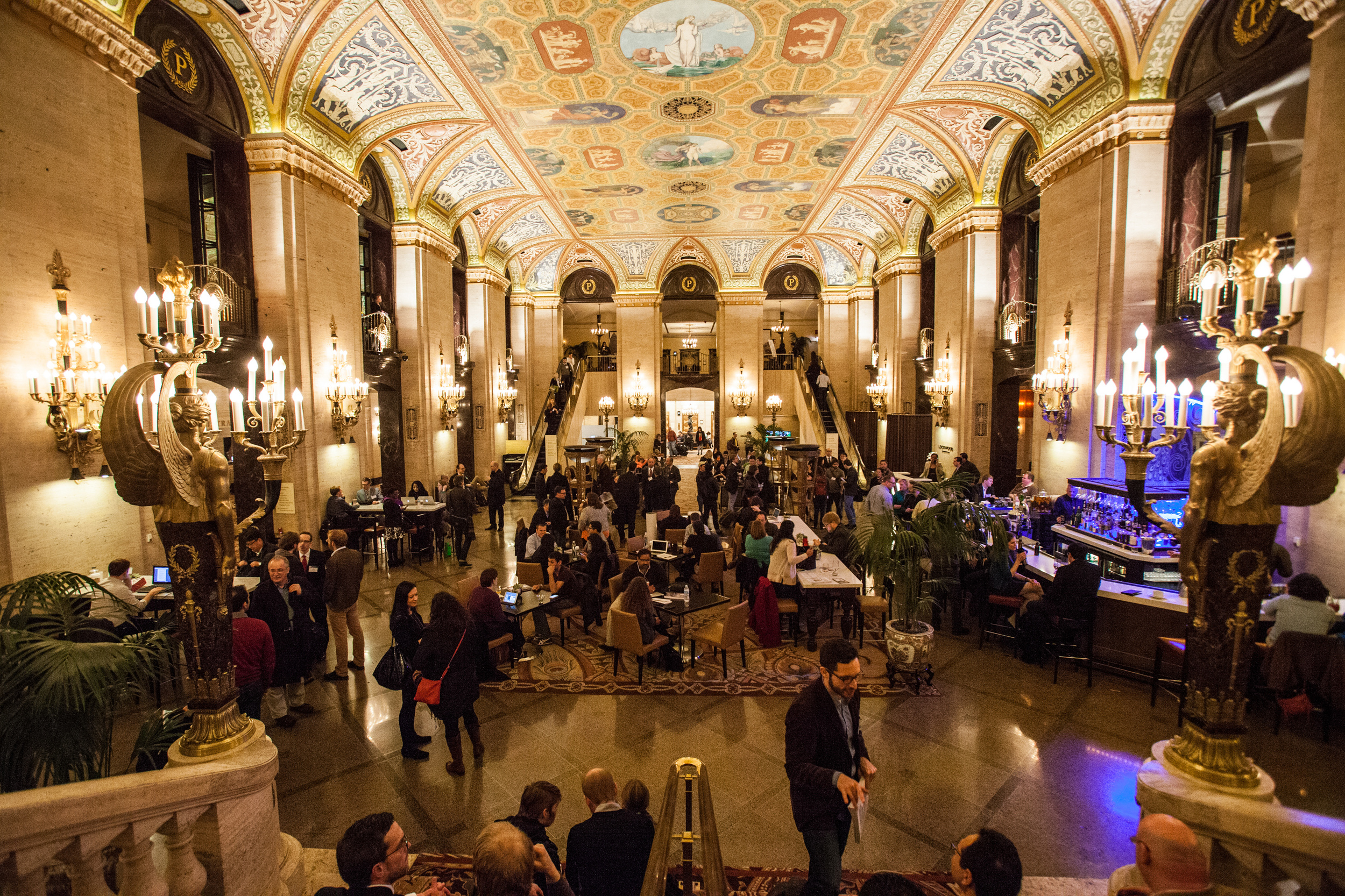 Tradicionalmente, o evento é realizado no Palmer House Hilton, hotel em Chicago. Foto: MPSA