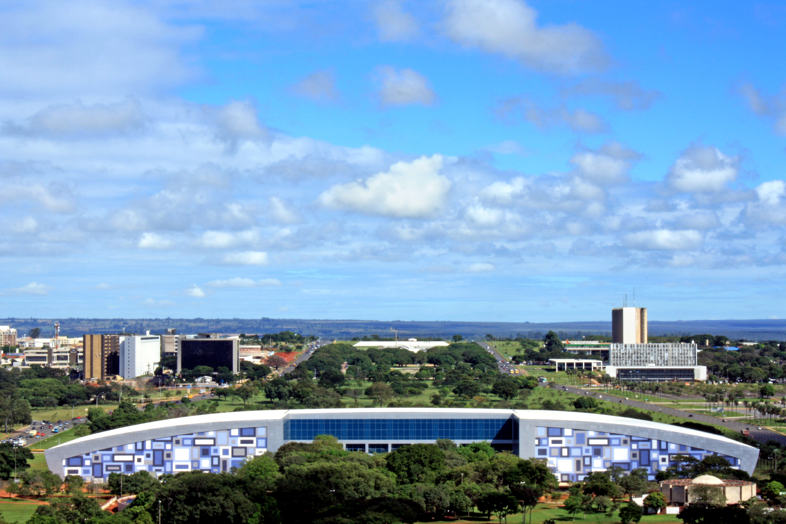 Centro de Convenções Ulysses Guimarães.Foto: Ronaldo Lima Jr.