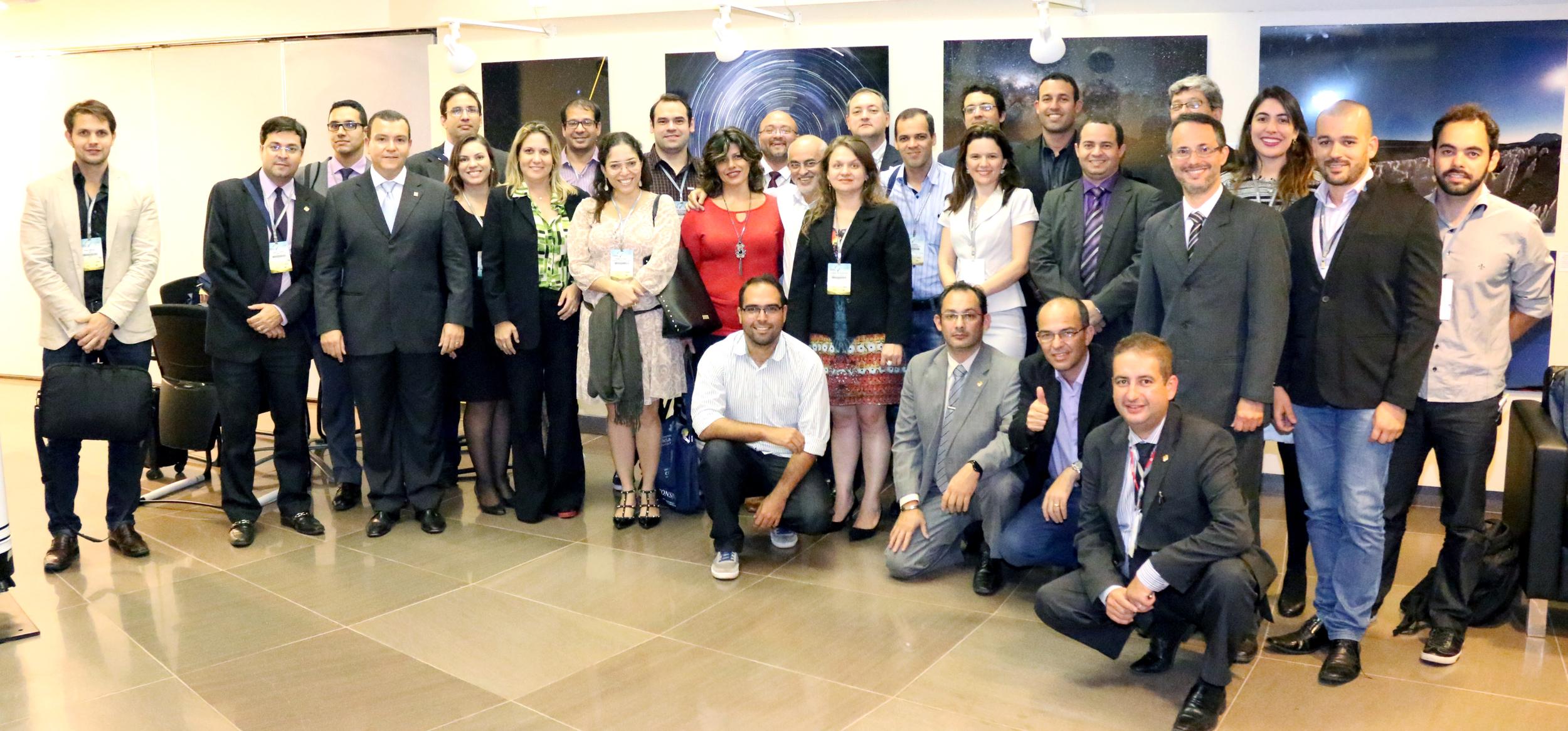 Entidades se reuniram no Planetário. Foto: Filipe Calmon / ANESP
