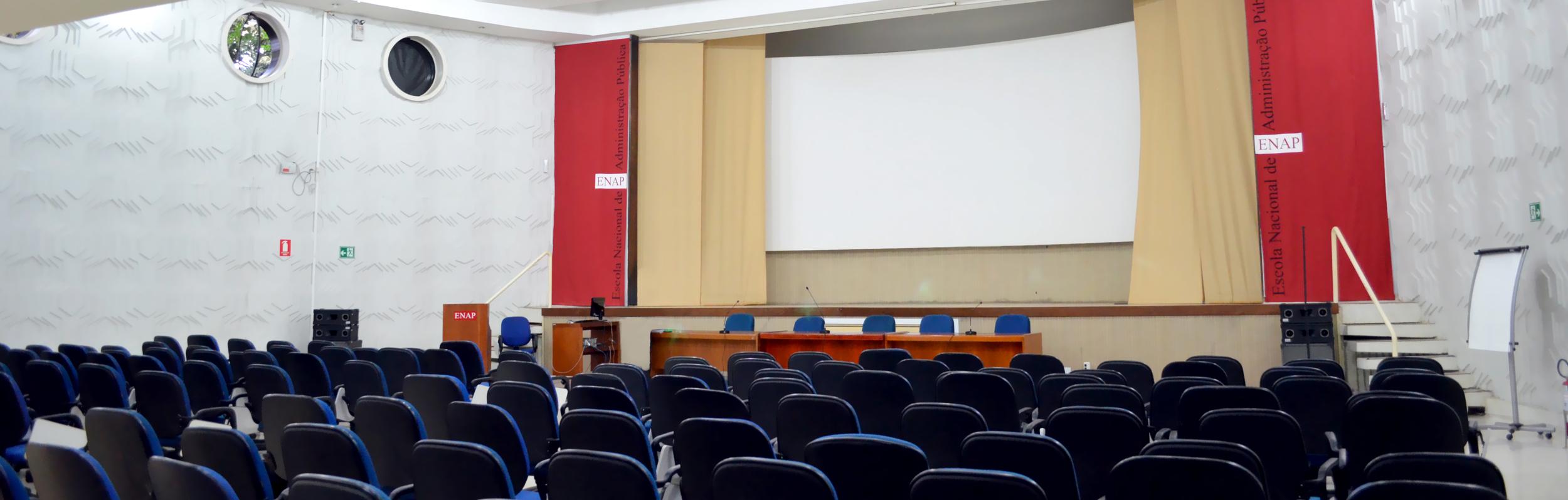Mesa redonda sobre Gestão Pública será realizada no auditório da ENAP. Foto: Filipe Calmon / ANESP