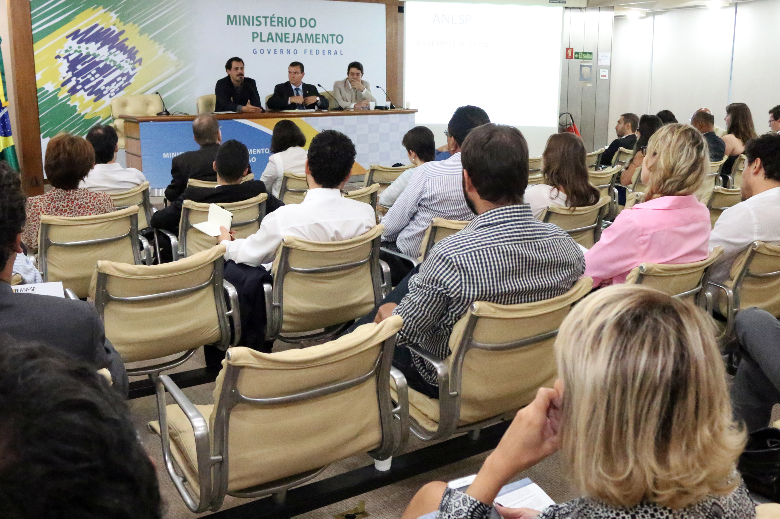 Auditório Térreo do Bloco K receberá AGO desta sexta. Foto: Filipe Calmon / ANESP