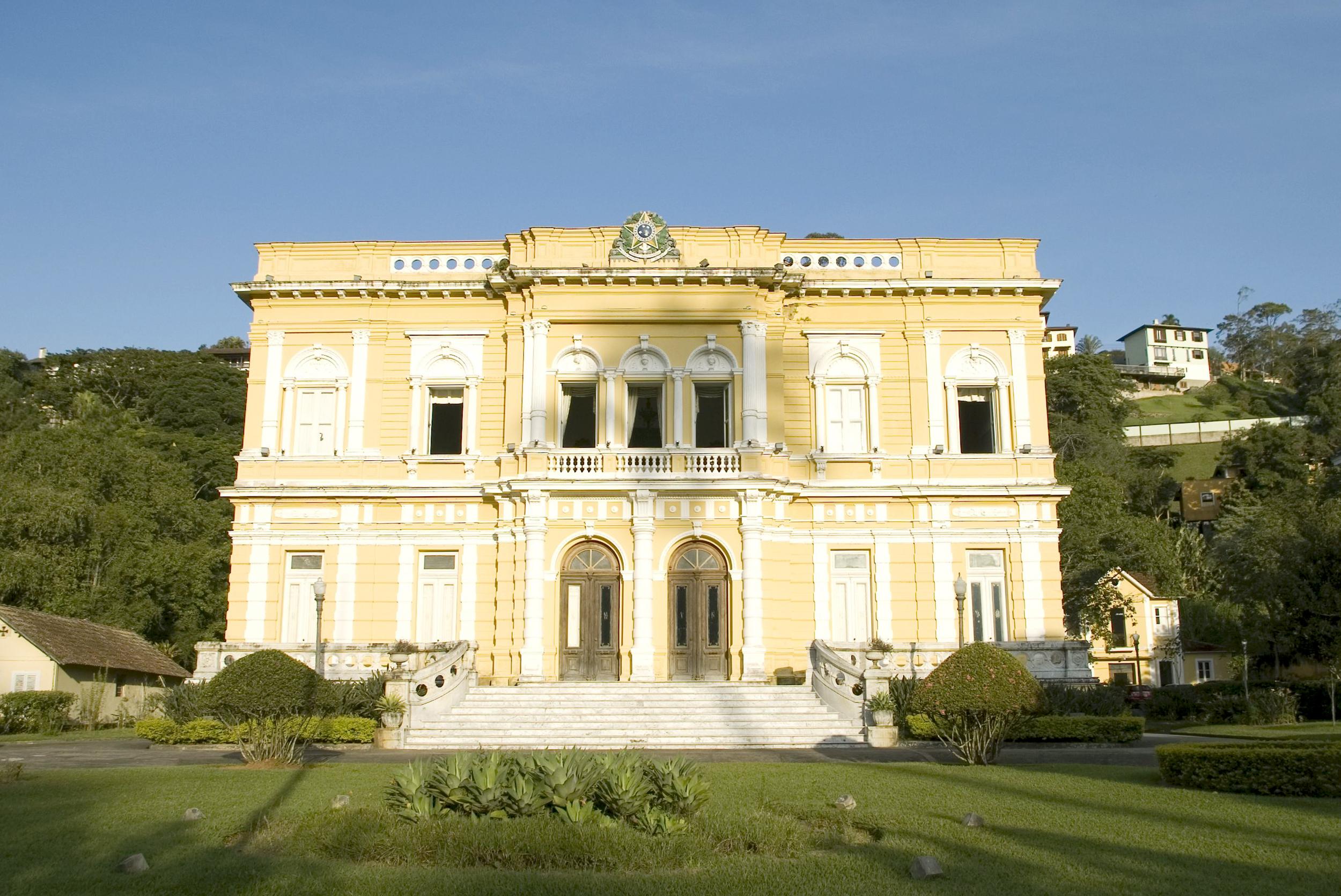 Palácio do Rio Negro, Petrópolis-RJ. Foto: Ibram