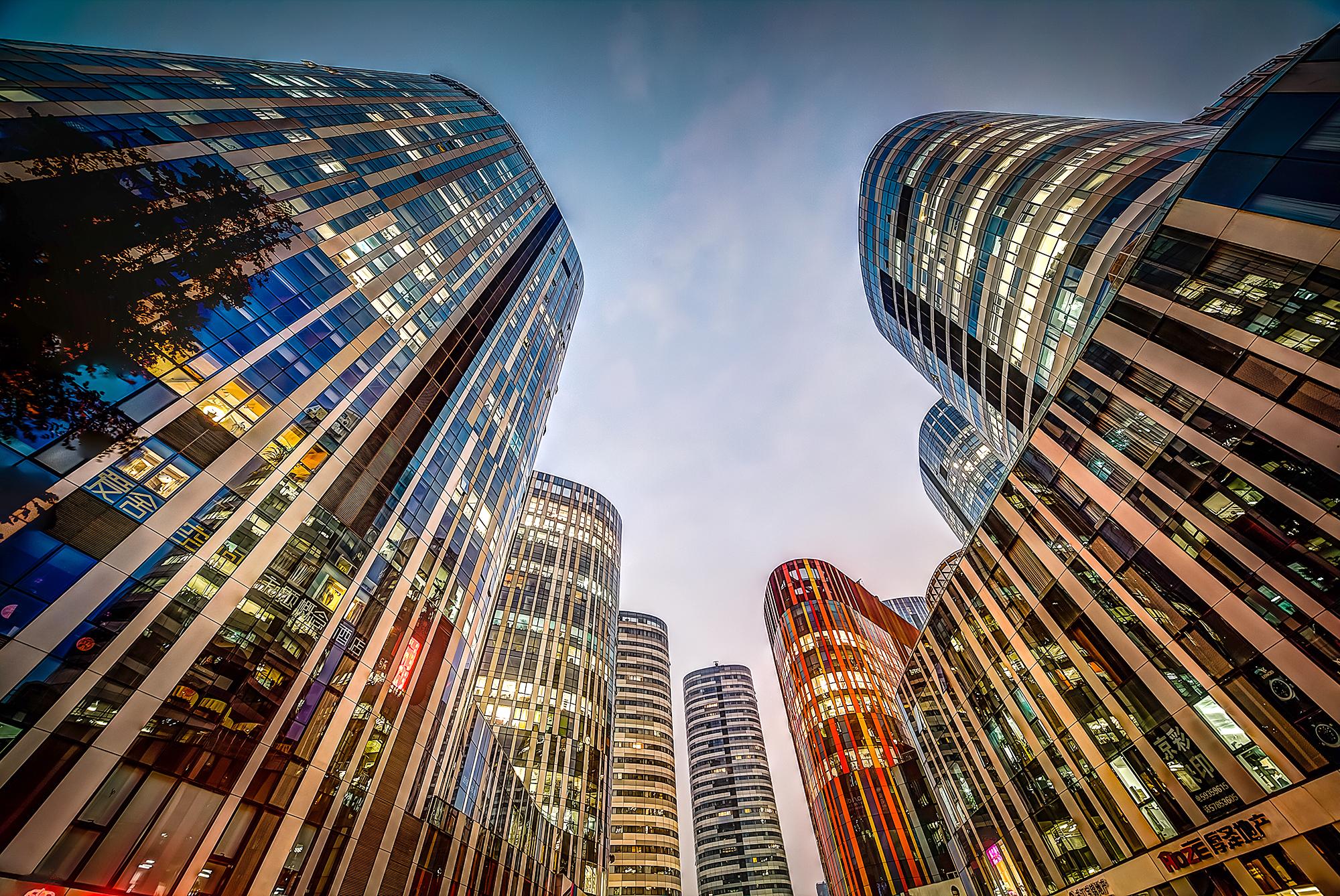 Pequim moderna. Foto:Tom Davidson