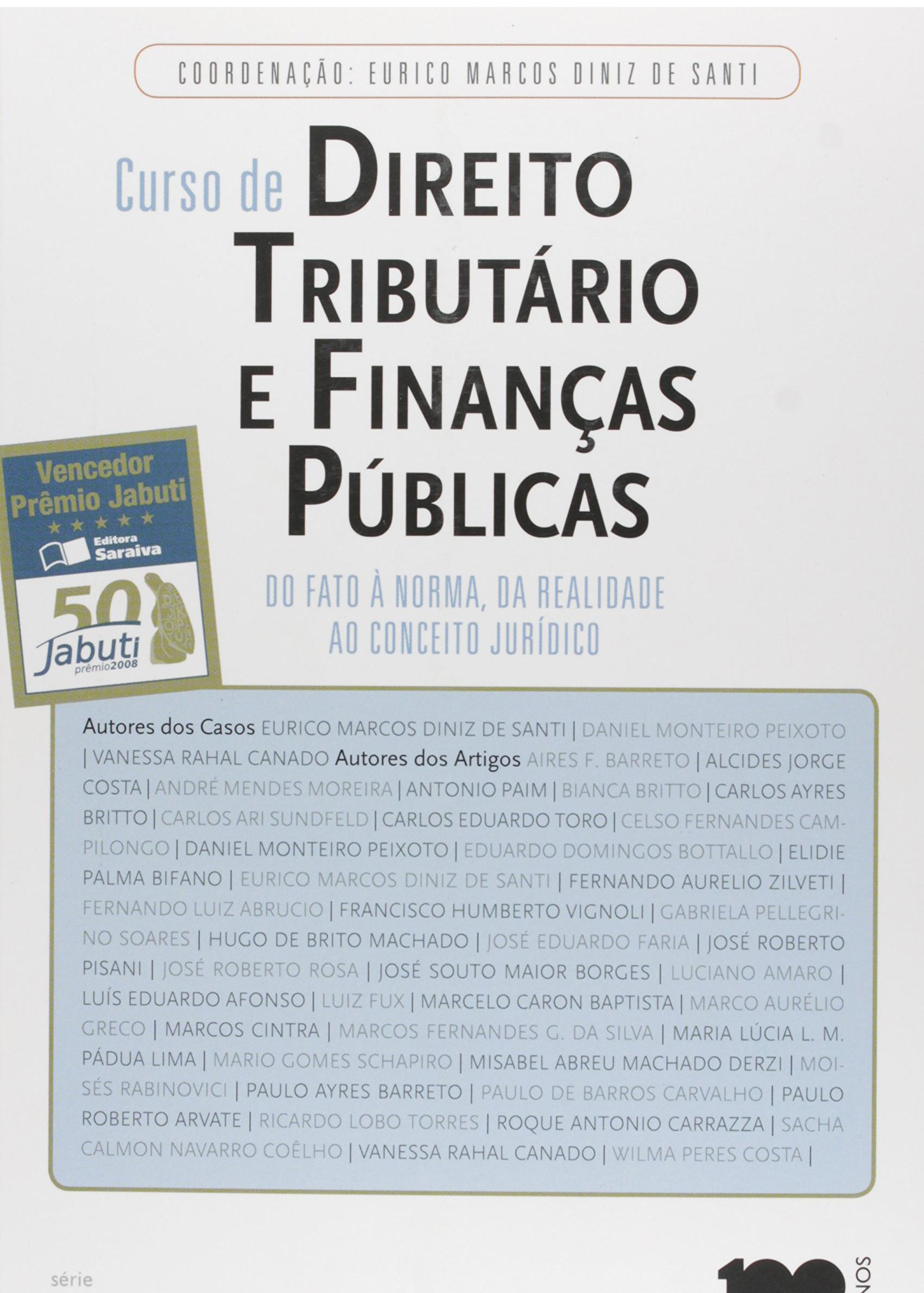 Diniz, de Santi - Curso de Direito Tributário e Finanças Públicas.jpg