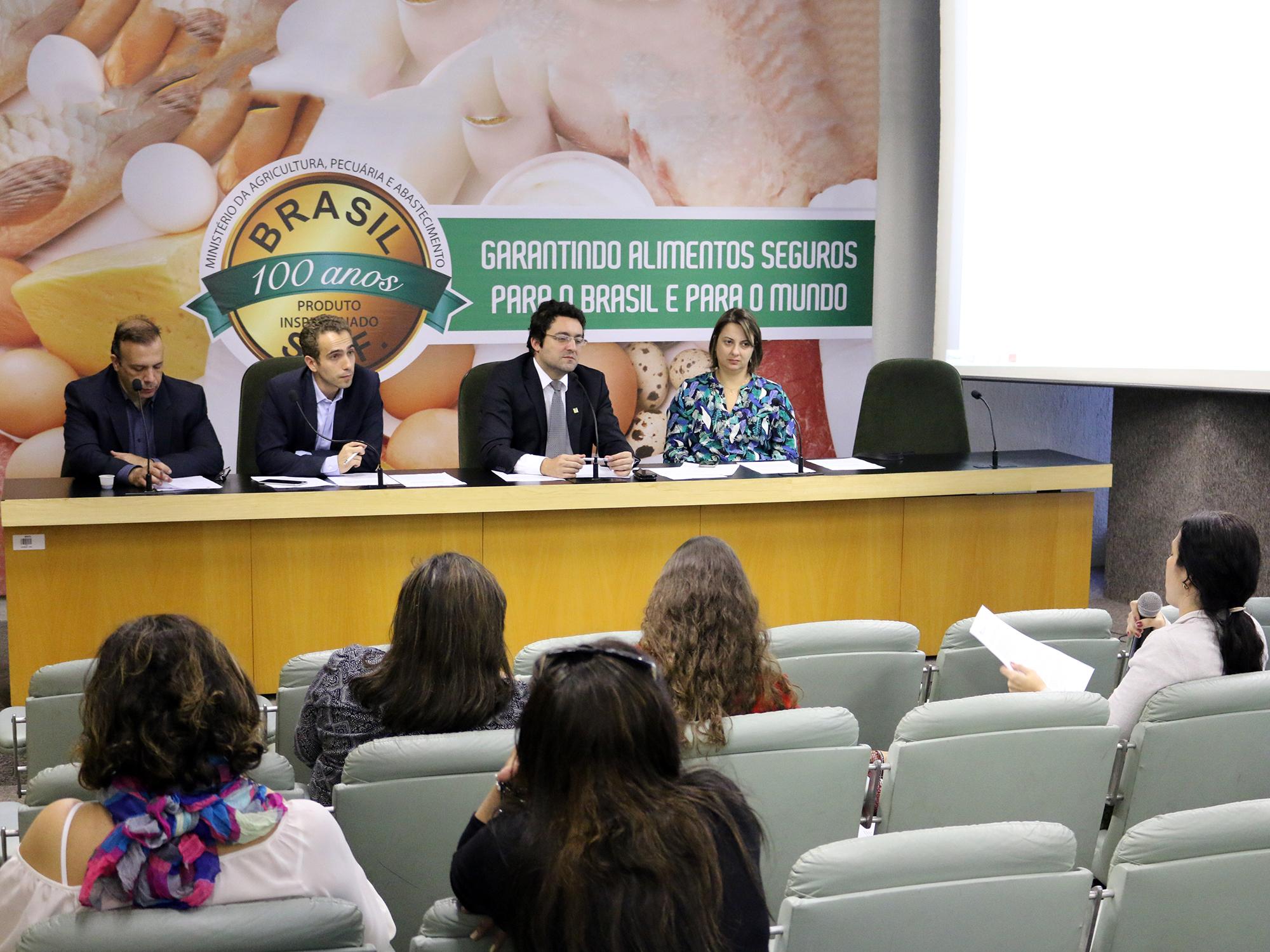 Associados se reuniram no auditório do Mapa. Foto: Filipe Calmon / ANESP