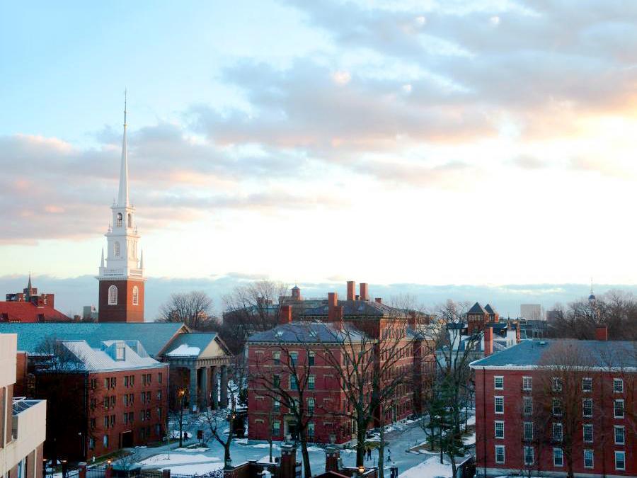 Parte do curso será realizado em Harvard. Foto: Harvard University