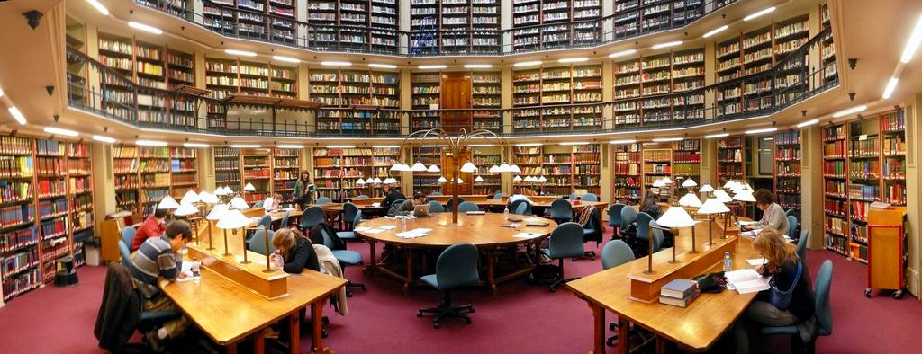 A British Library of Political and Economic Science, da London School of Economics (LSE) possui mais de 4 milhões de livros. Foto: LSE
