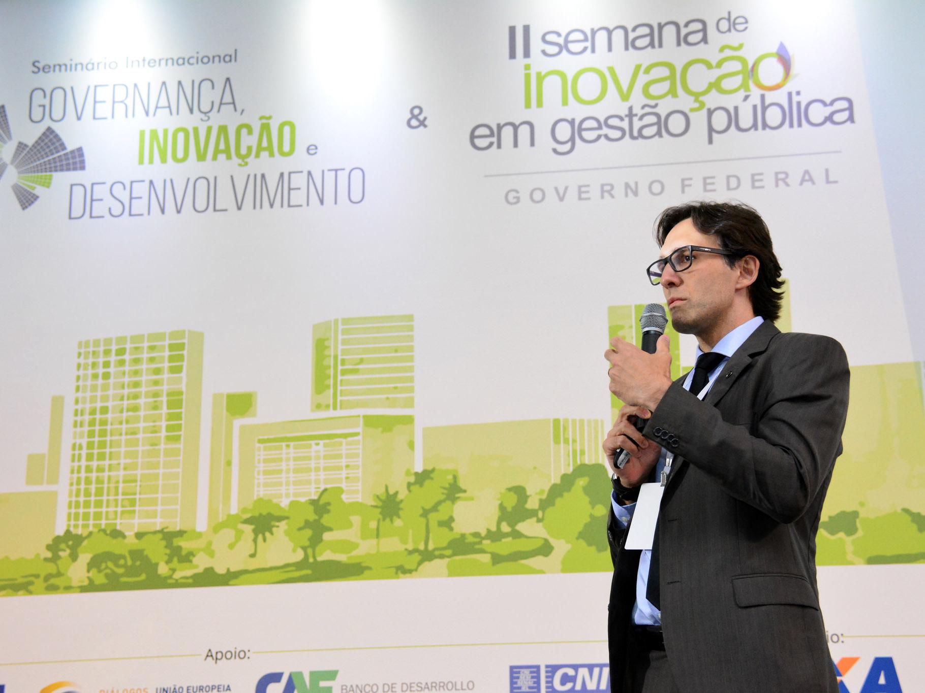 Luis Felipe Monteiro,Diretor do Departamento de Modernização da Gestão Pública do MP. Foto: Enap