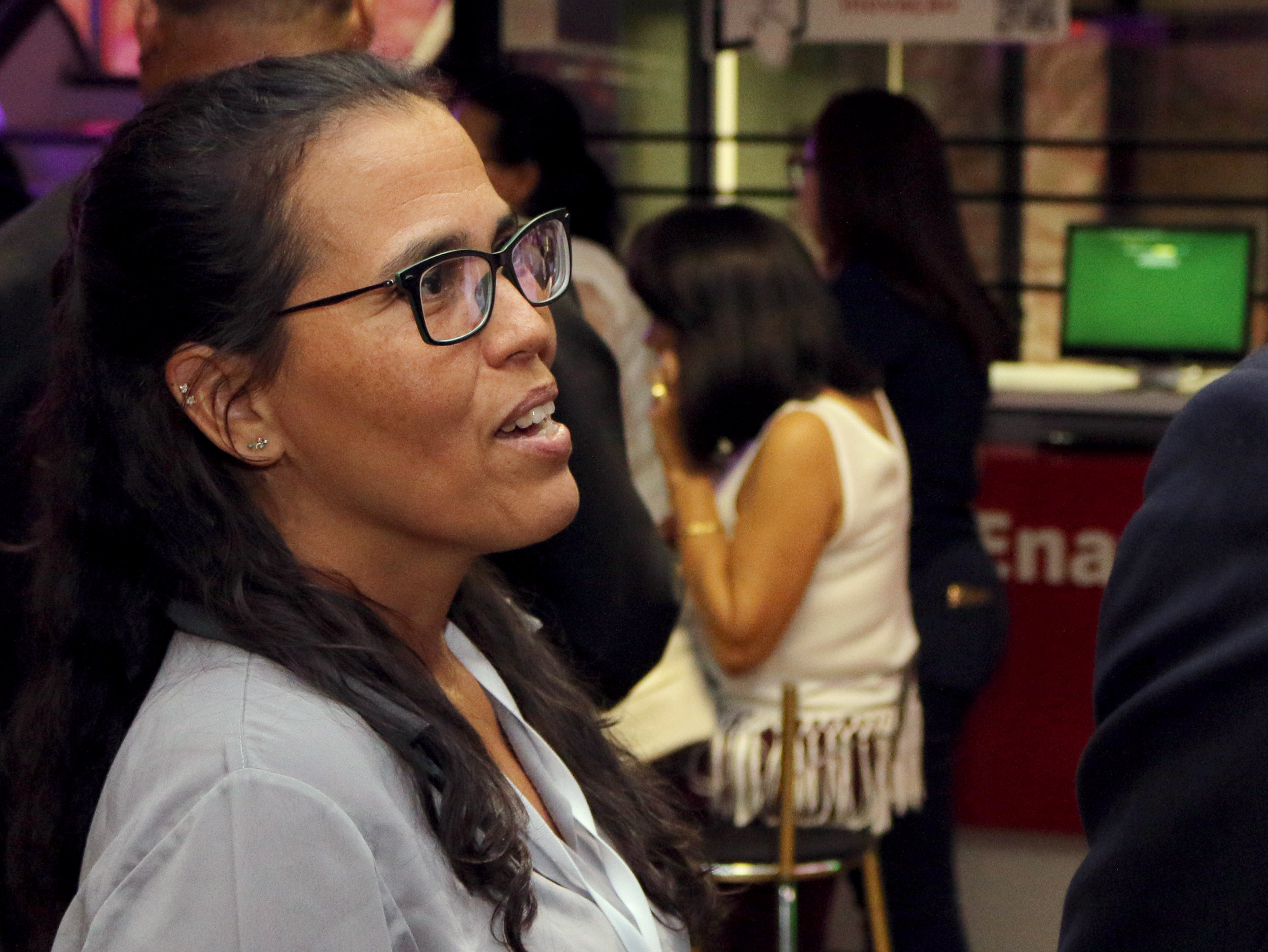 A ex-Presidente da ANESP Regina Luna, atualmente na ENAP, foi uma das organizadoras do evento. Foto: Filipe Calmon / ANESP