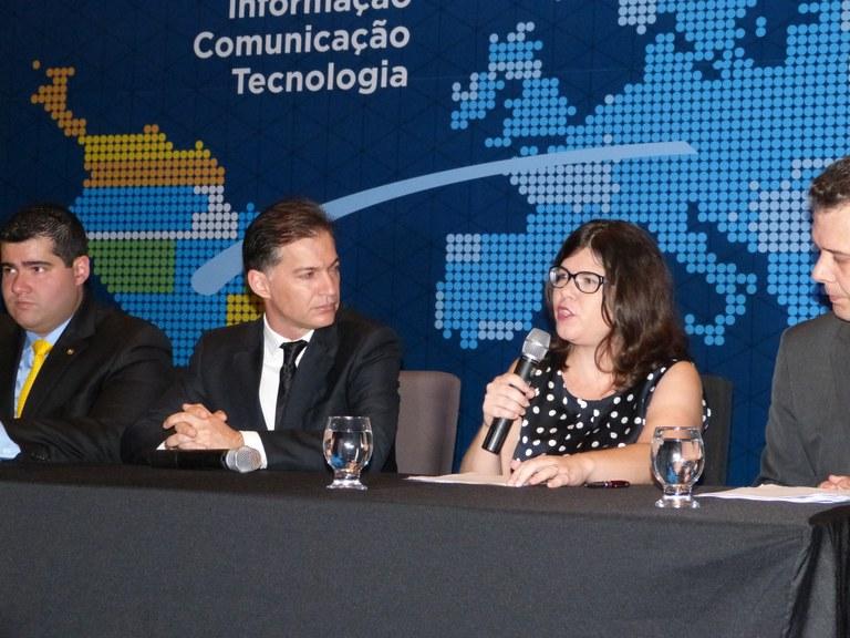 Secretária adjunta de Gestão do MP, EPPGG Aline Soares, ratifica importância da cooperação internacional para a implementação de políticas públicas no Brasil/Foto: Ministério do Planejamento