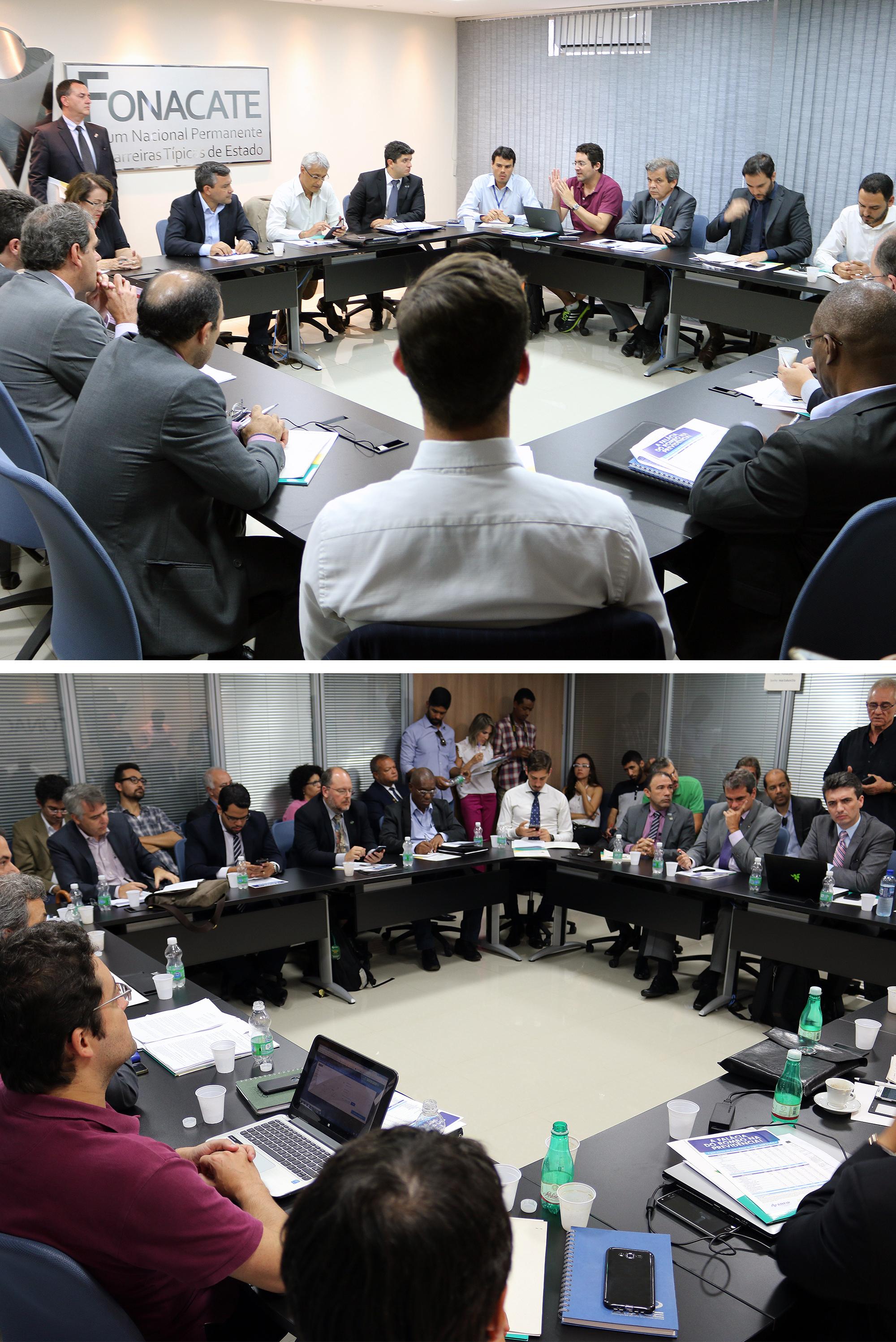 Líderes de entidades lotam auditório do Fórum. Fotos: Filipe Calmon / ANESP