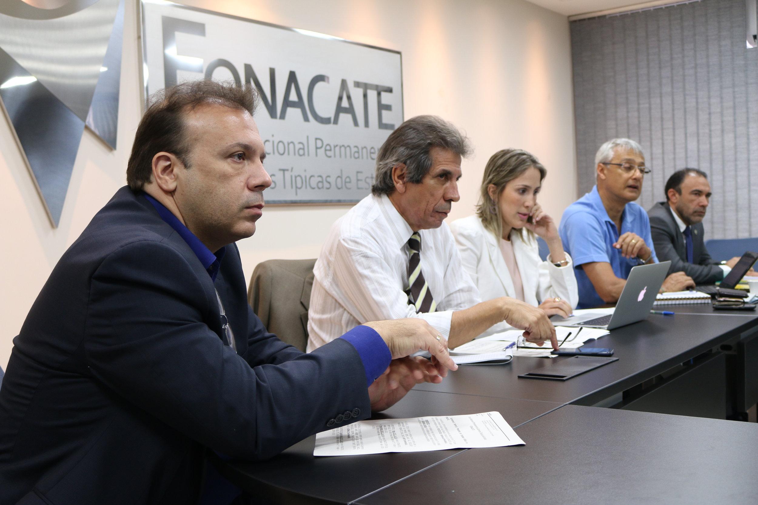 Diretores de Assuntos Profissionais da ANESP, Paulo Paiva, durante encontro. Foto: Filipe Calmon / ANESP