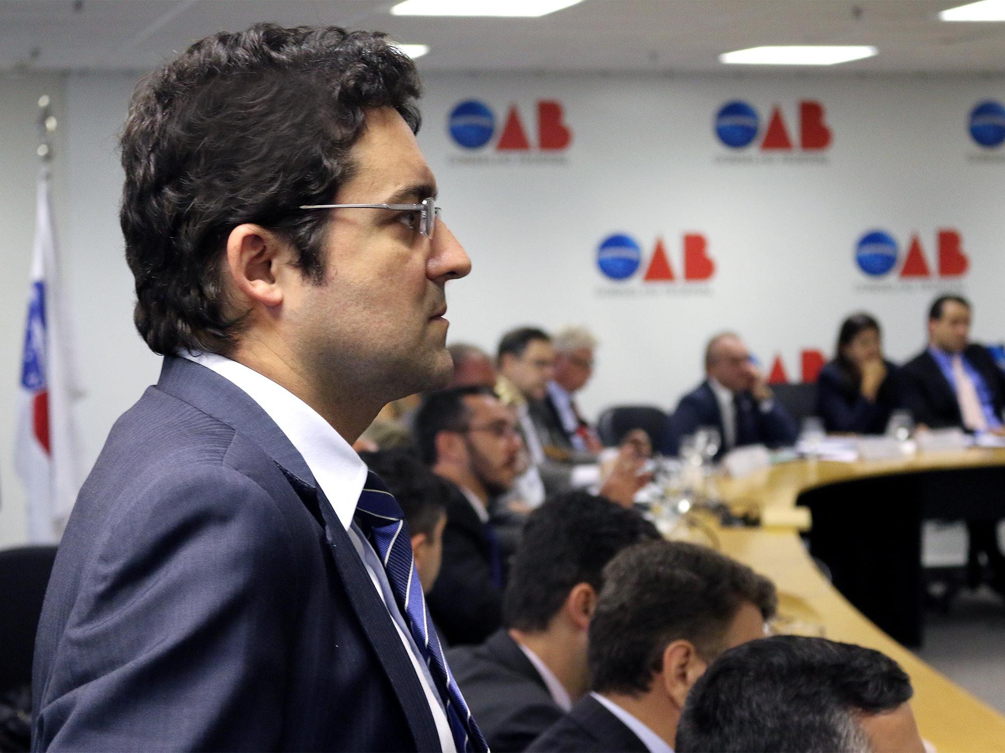Presidente da ANESP, Alex Canuto, participou do encontro. Fotos: Filipe Calmon / ANESP