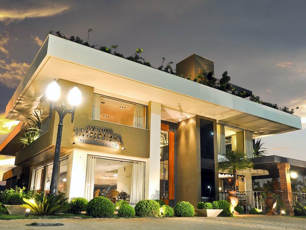 Pizzaria Avenida Paulista fica no polo gastronômico próximo à Ponte JK. Foto: Divulgação