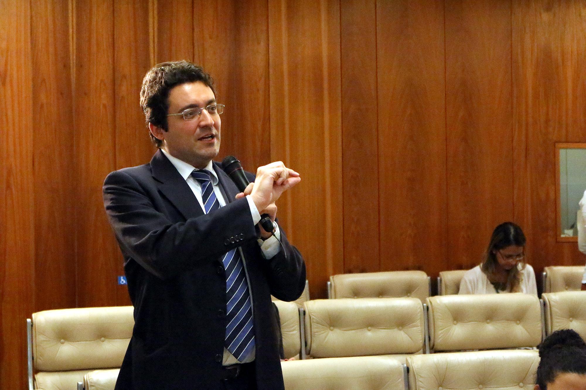 Presidente da ANESP, Alex Canuto