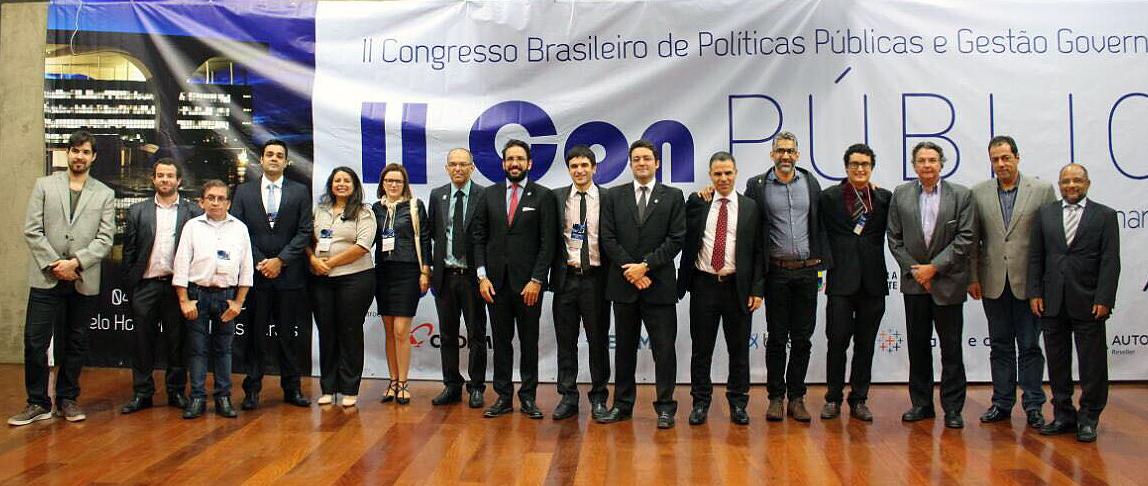 Representantes das entidades que formam o Fenagesp durante encontro em Belo Horizonte. Foto: Fenagesp