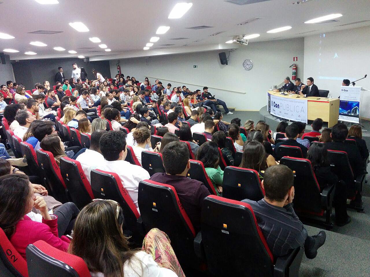 II ConPública teve a participação do Presidente da ANESP, Alex Canuto. Foto: Fenagesp