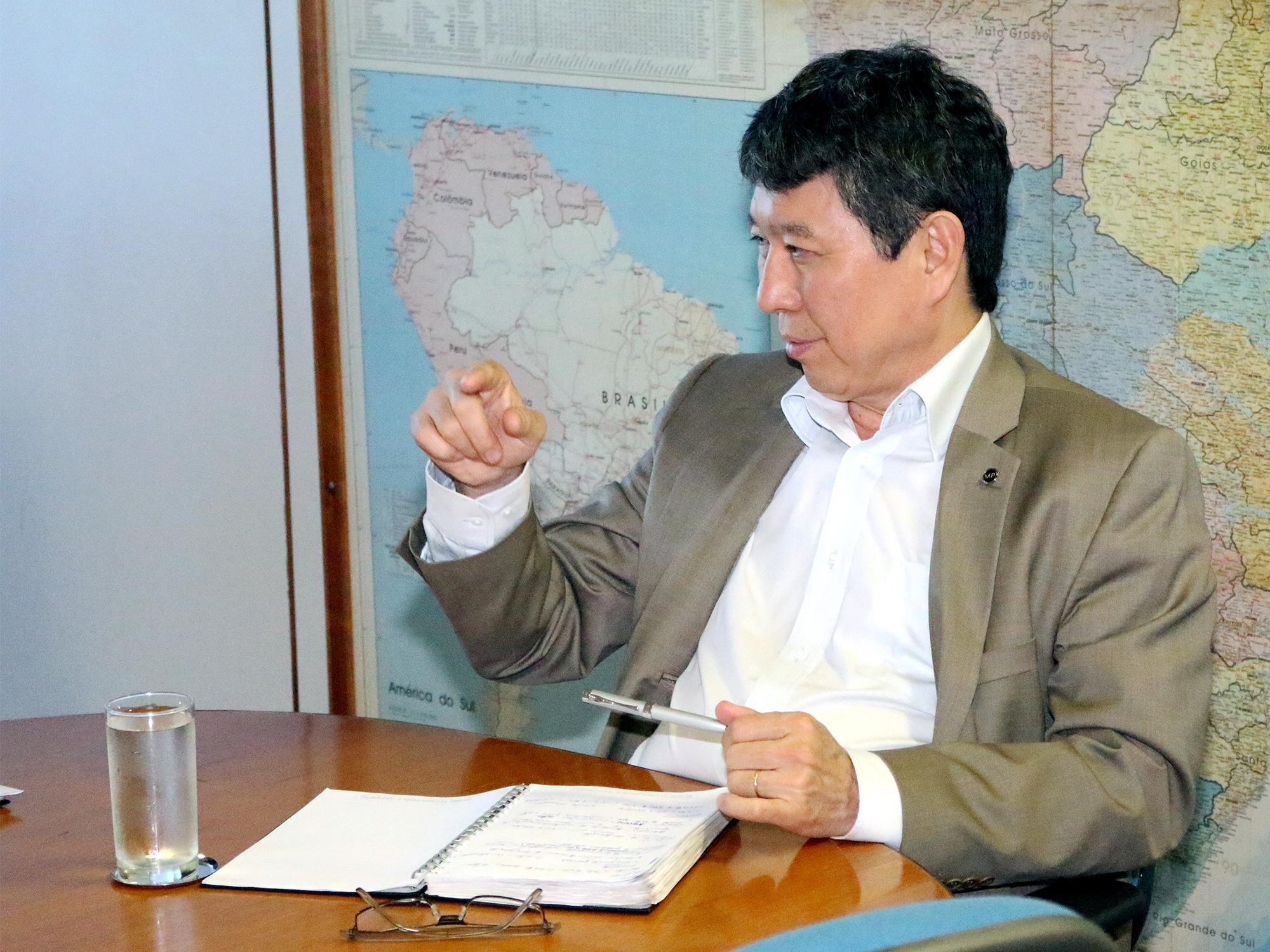 Augusto Chiba, Secretário de Gestão de Pessoas. Foto: Filipe Calmon / ANESP