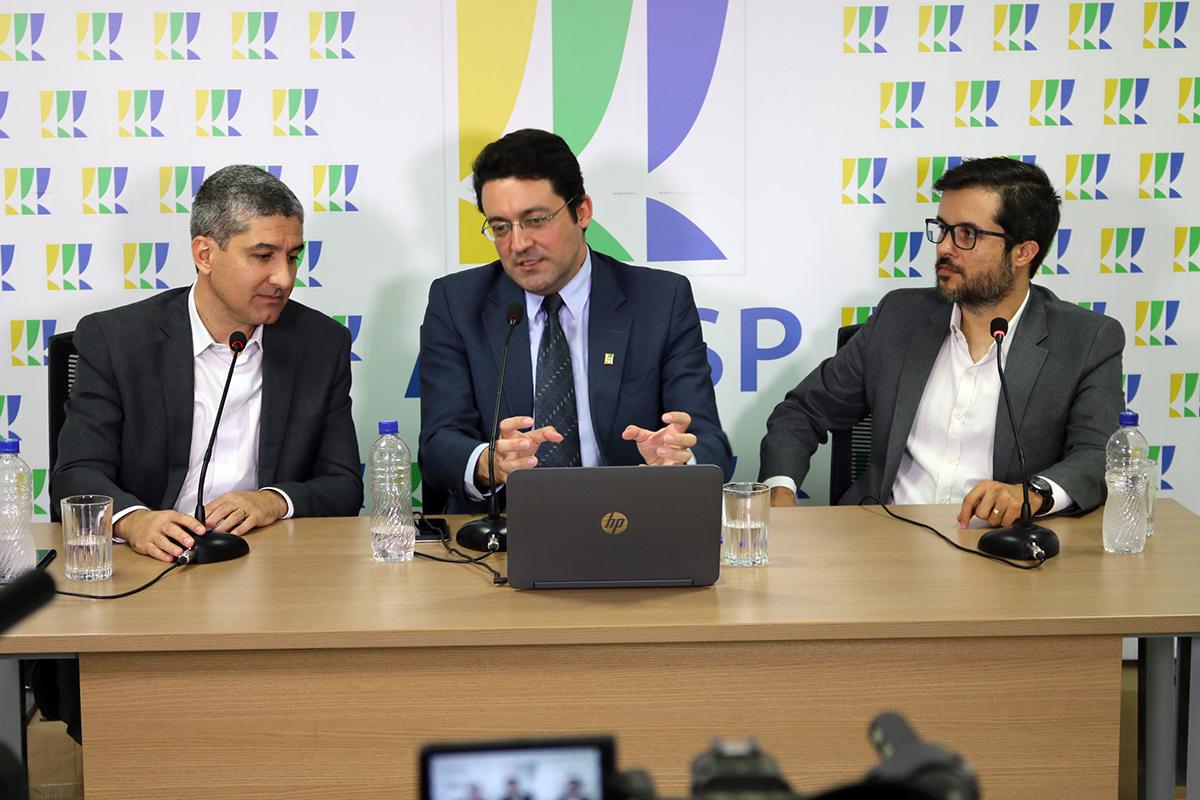 TV ANESP é ancorada pelo Presidente da ANESP, Alex Canuto. Fotos: Filipe Calmon / ANESP