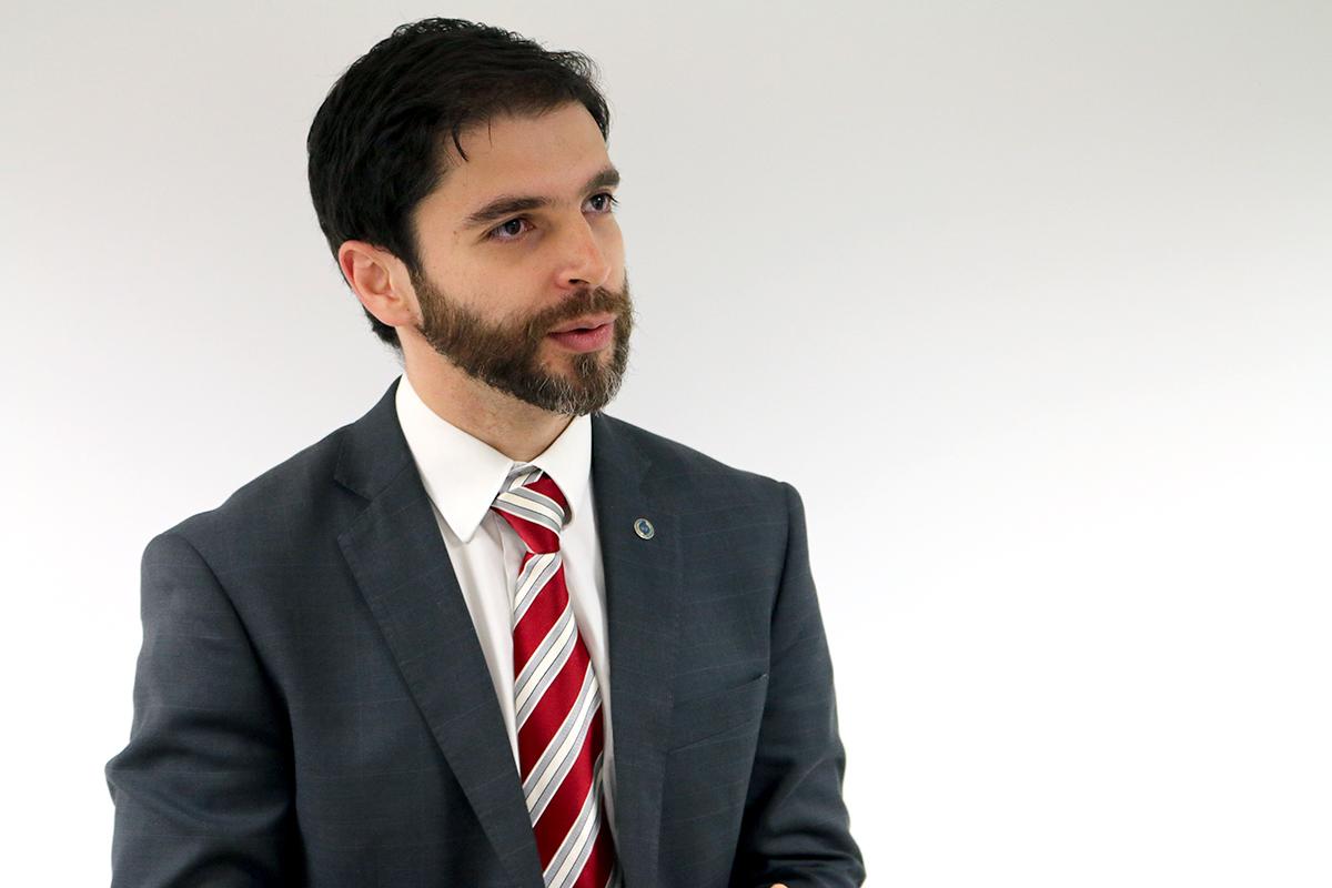 Roberto Taufick é EPPGG da 10ª Turma. Foto: Filipe Calmon / ANESP