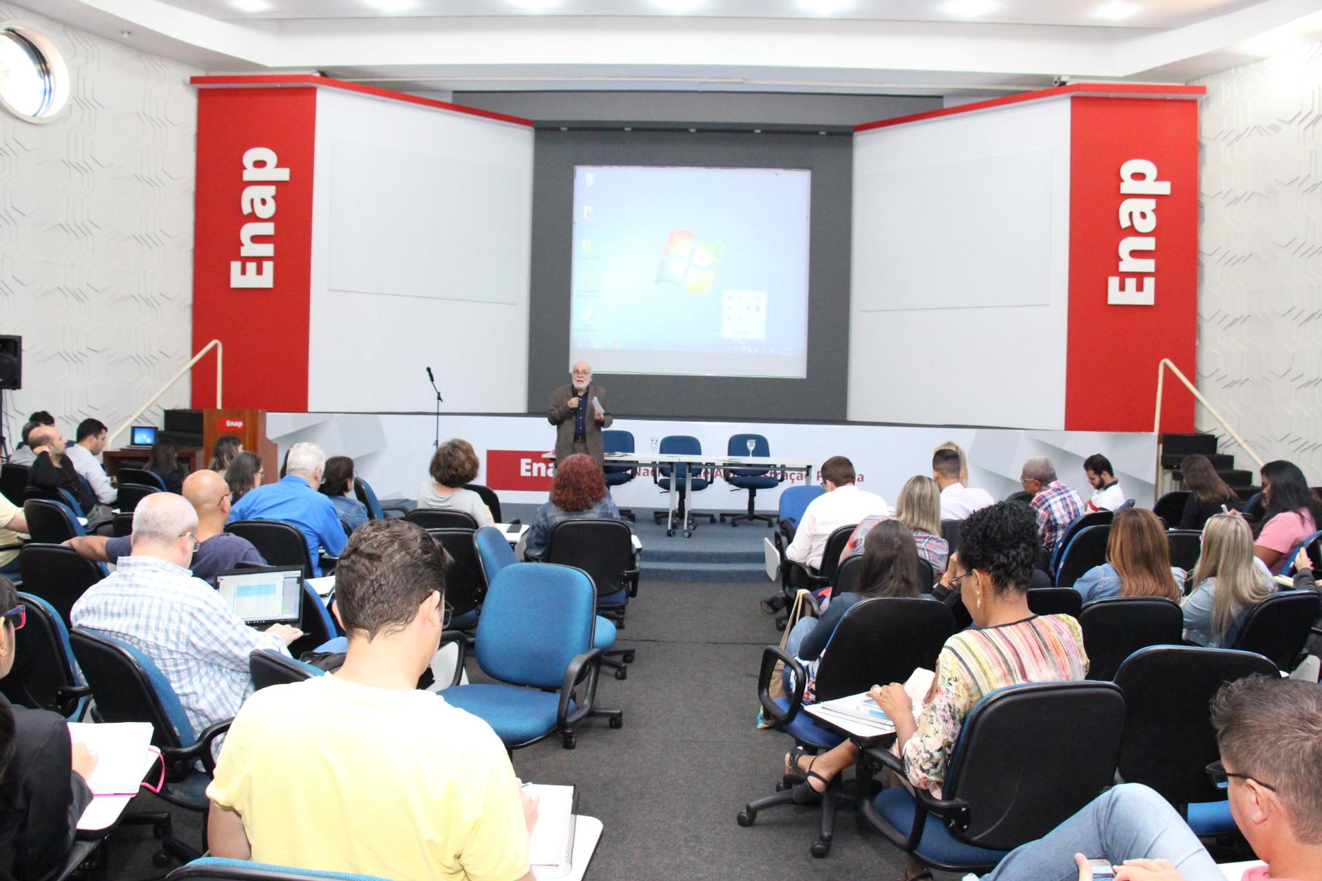A Enap é a escola responsável pela formação dos EPPGGs do governo federal
