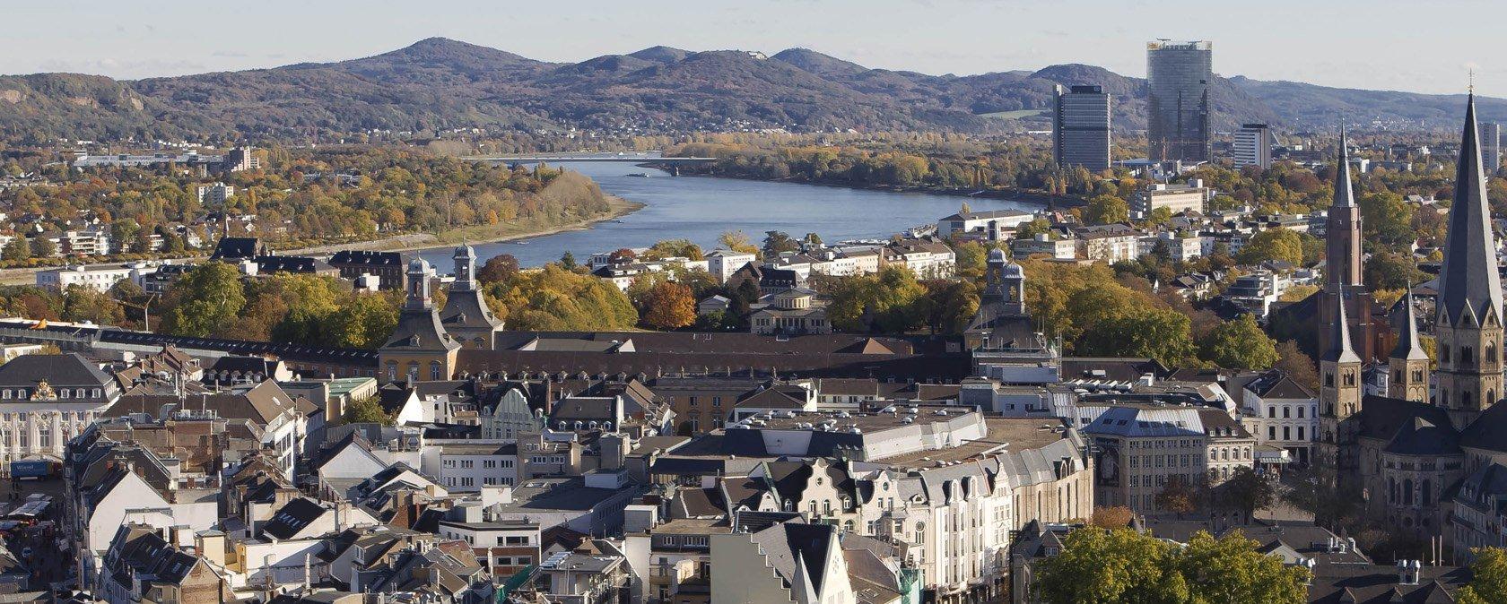 Foto aérea de Bonn Foto: Enap